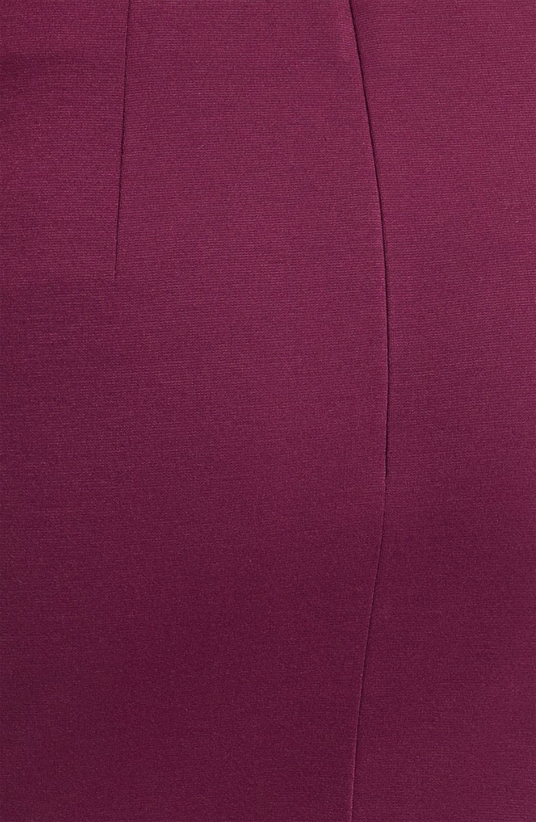 Belted Ponte Skirt,                             Alternate thumbnail 24, color,