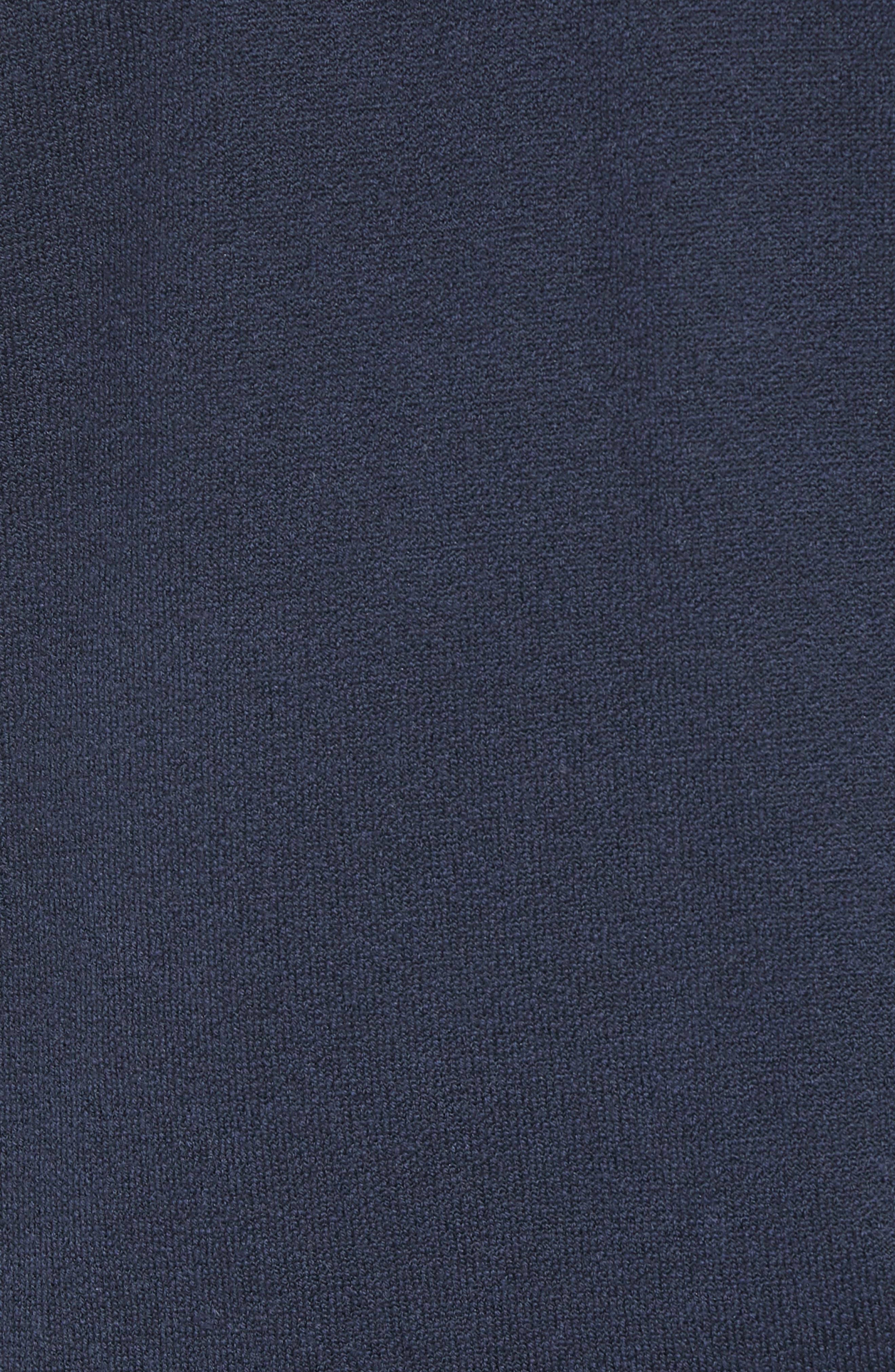The Merino Wool Fleece Crew Sweatshirt,                             Alternate thumbnail 6, color,                             NAVY