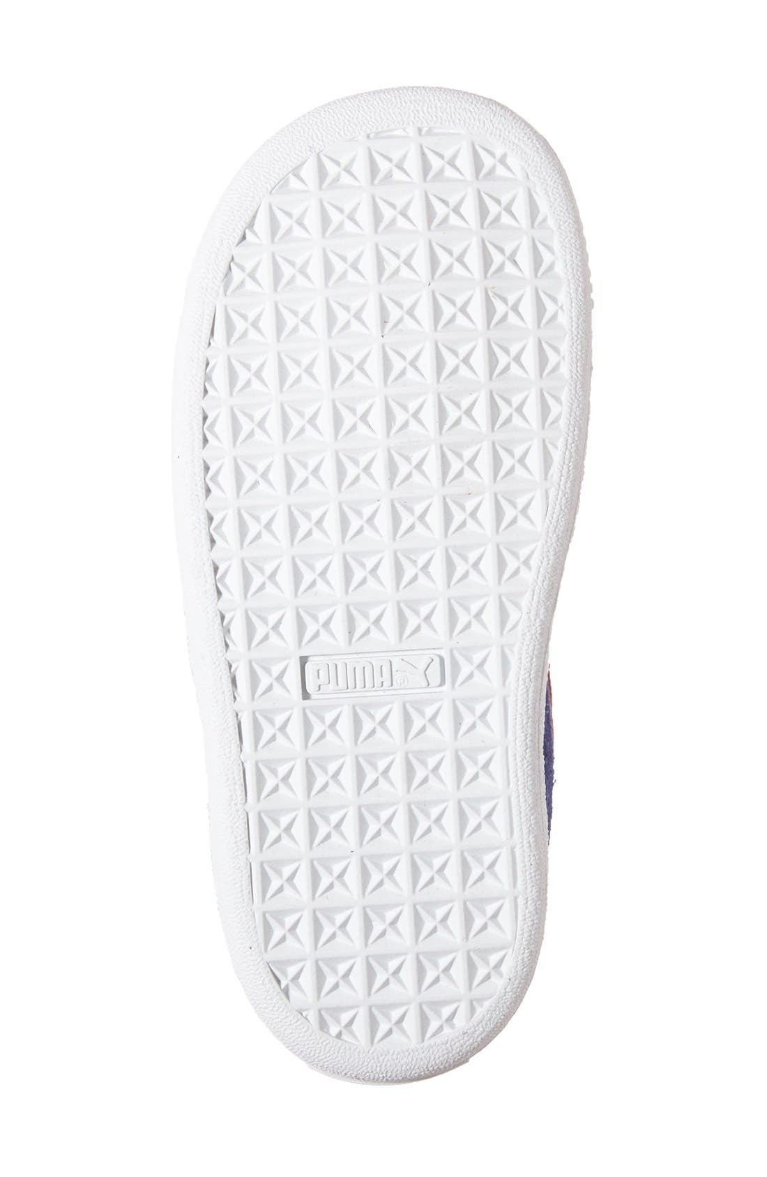 Suede Sneaker,                             Alternate thumbnail 40, color,