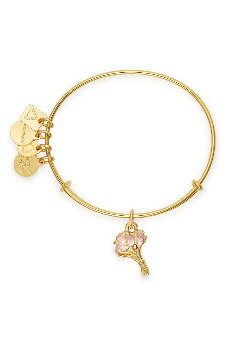 Alex And Ani CHARITY BY DESIGN TULIPS BANGLE