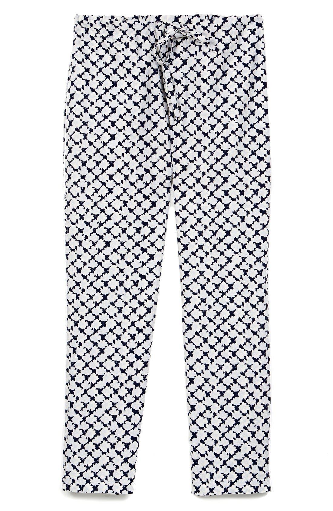 SLEEPY JONES,                             'Marina' Pajama Pants,                             Main thumbnail 1, color,                             415