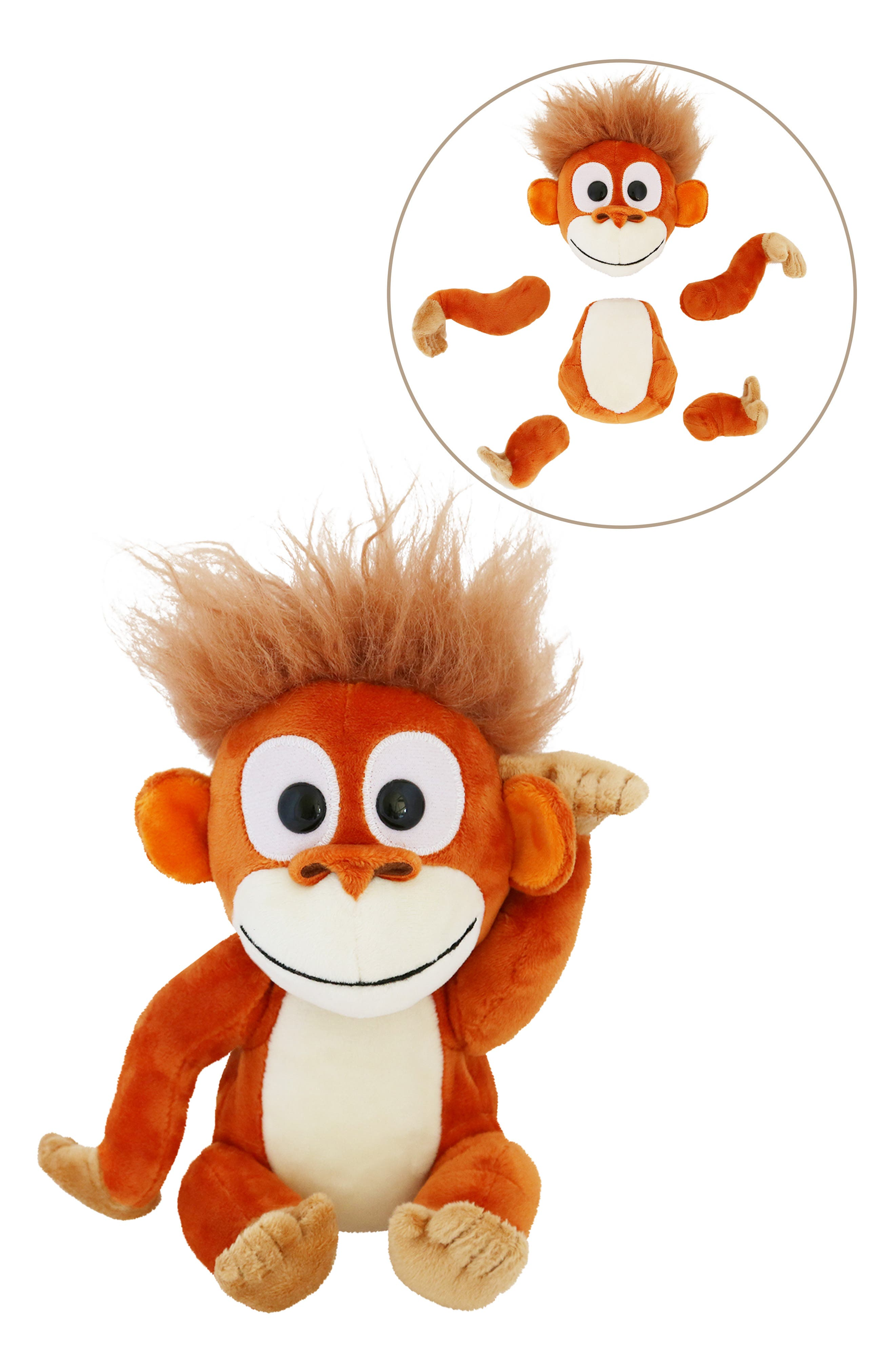 Animoodles Randy Orangutan Magnetic Stuffed Animal