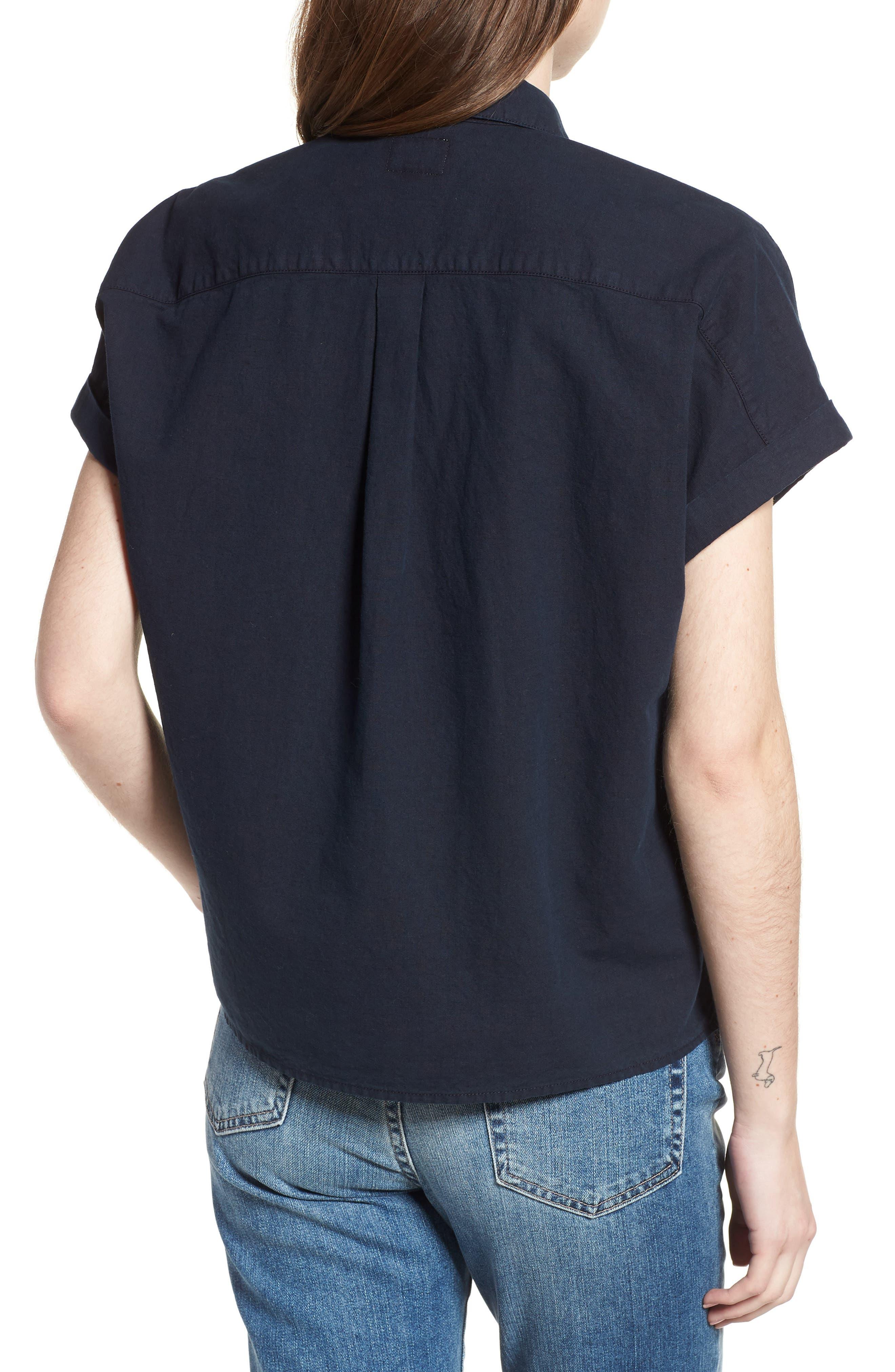 Hadley Shirt,                             Alternate thumbnail 2, color,                             SULFUR DARK COVE