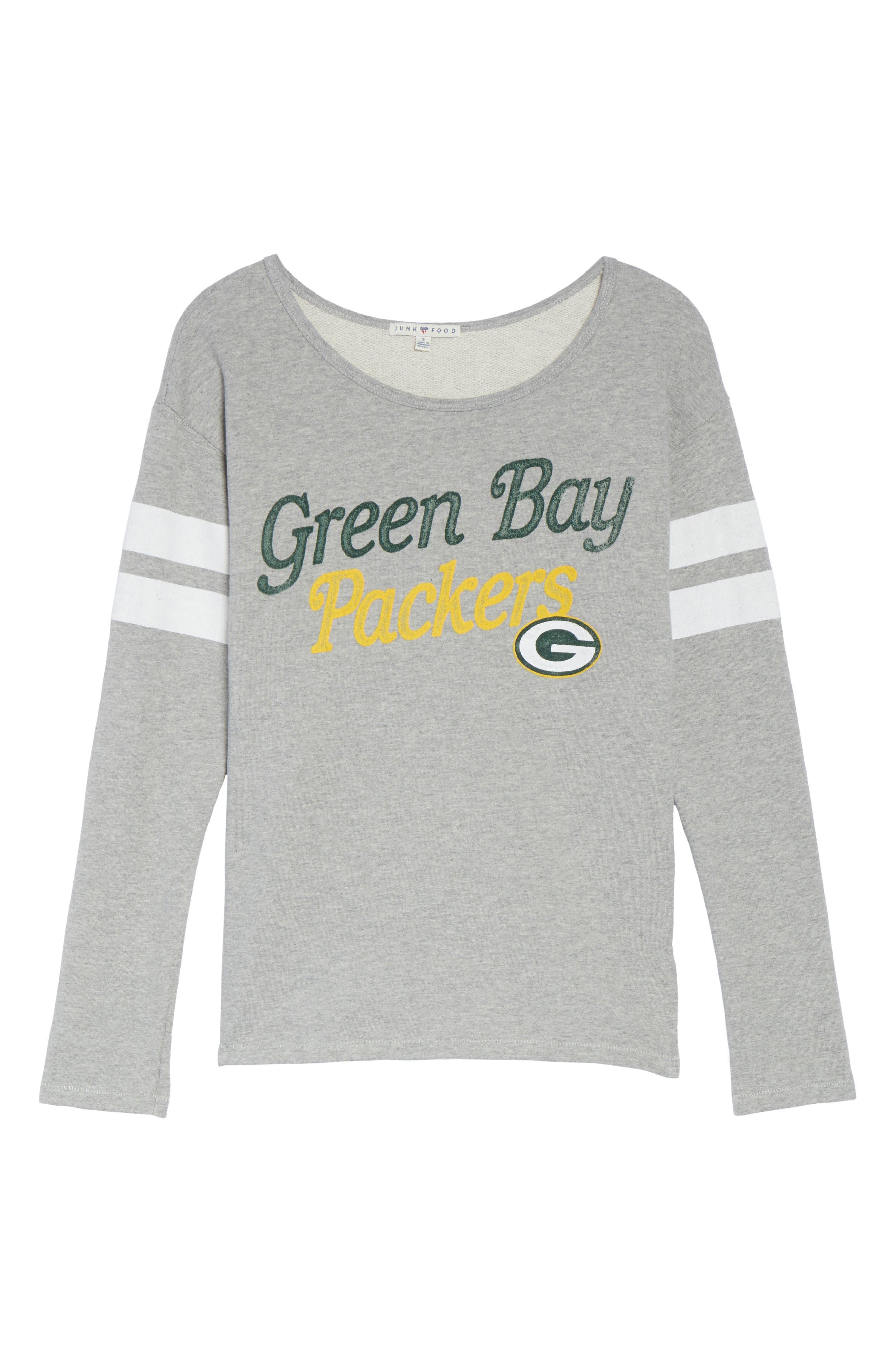 NFL Green Bay Packers Champion Sweatshirt,                             Alternate thumbnail 6, color,                             028