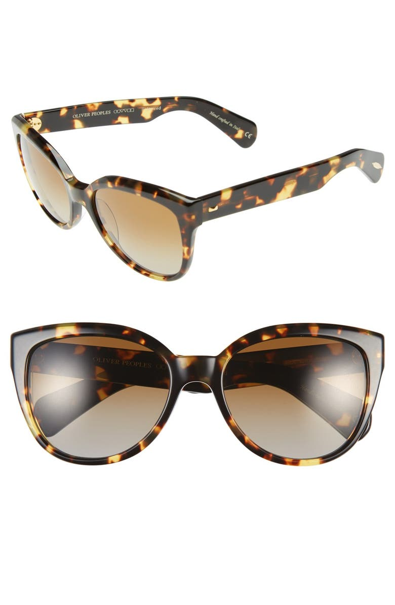 a1176e145a Oliver Peoples  Abrie  58mm Polarized Cat Eye Sunglasses