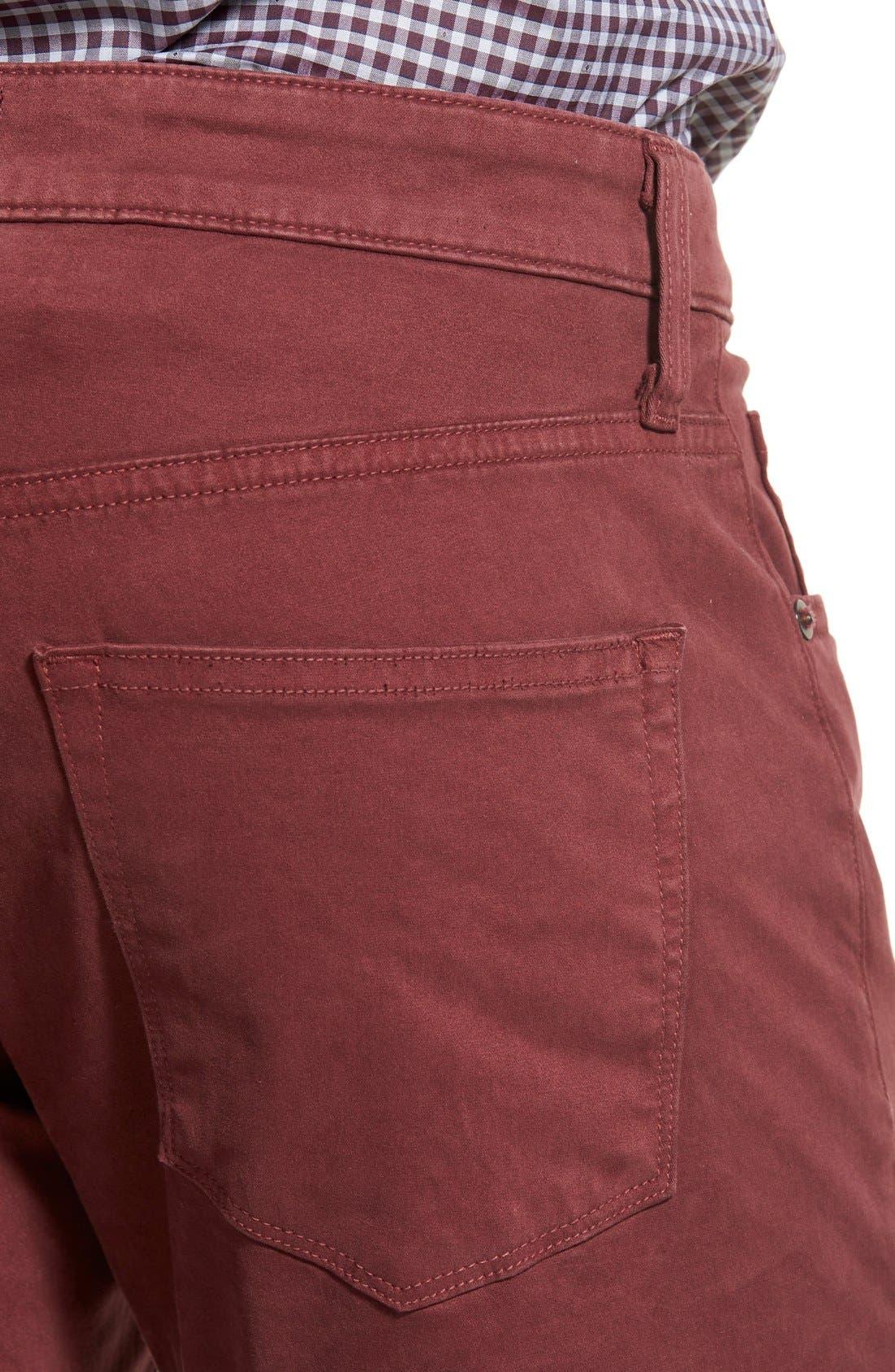 'Kane' Slim Fit Cotton Twill Pants,                             Alternate thumbnail 39, color,