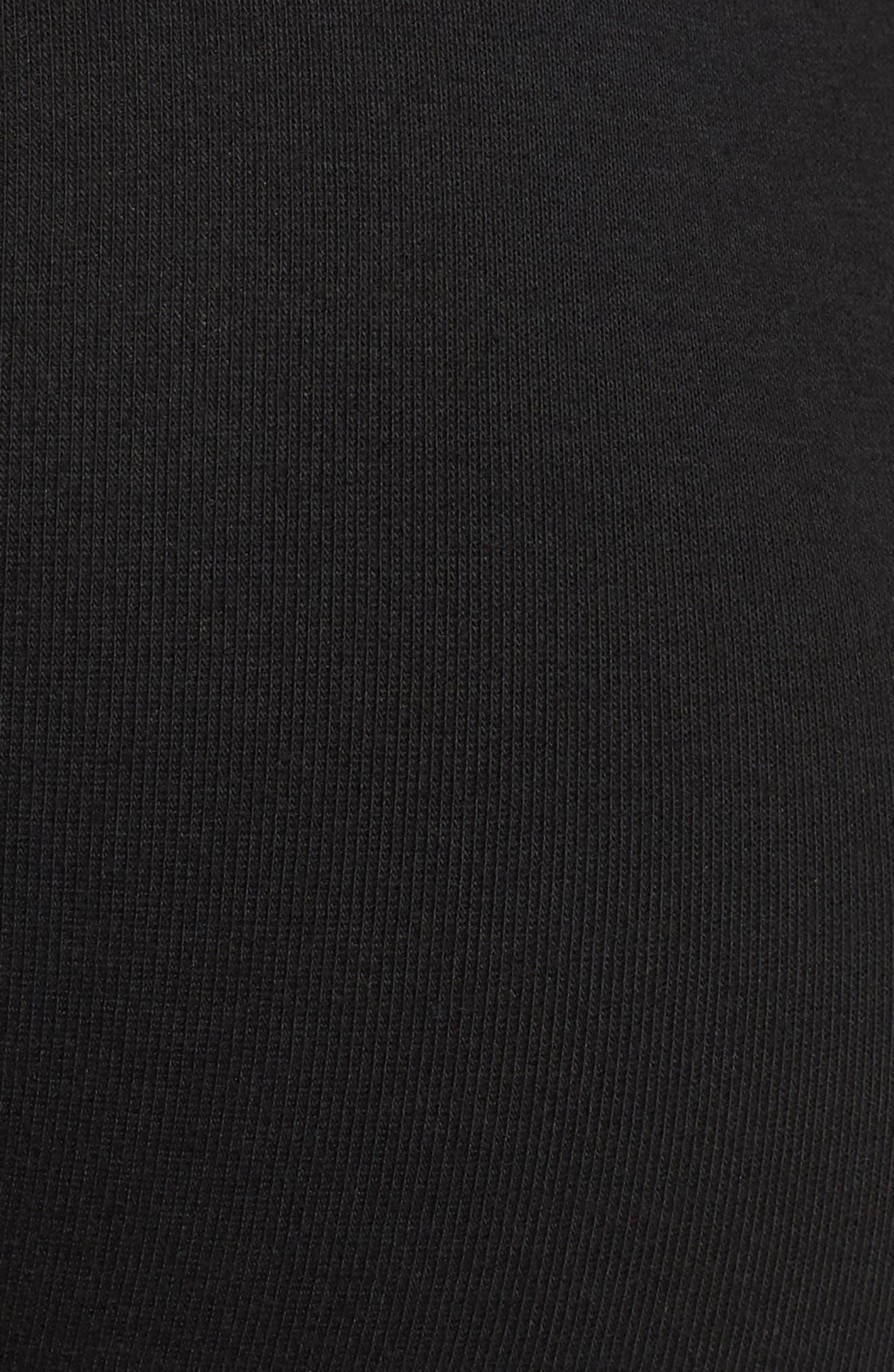 Classic 5-Pack Cotton Briefs,                             Alternate thumbnail 6, color,                             BLACK W/ RED/ DOWNPOUR/ GREY
