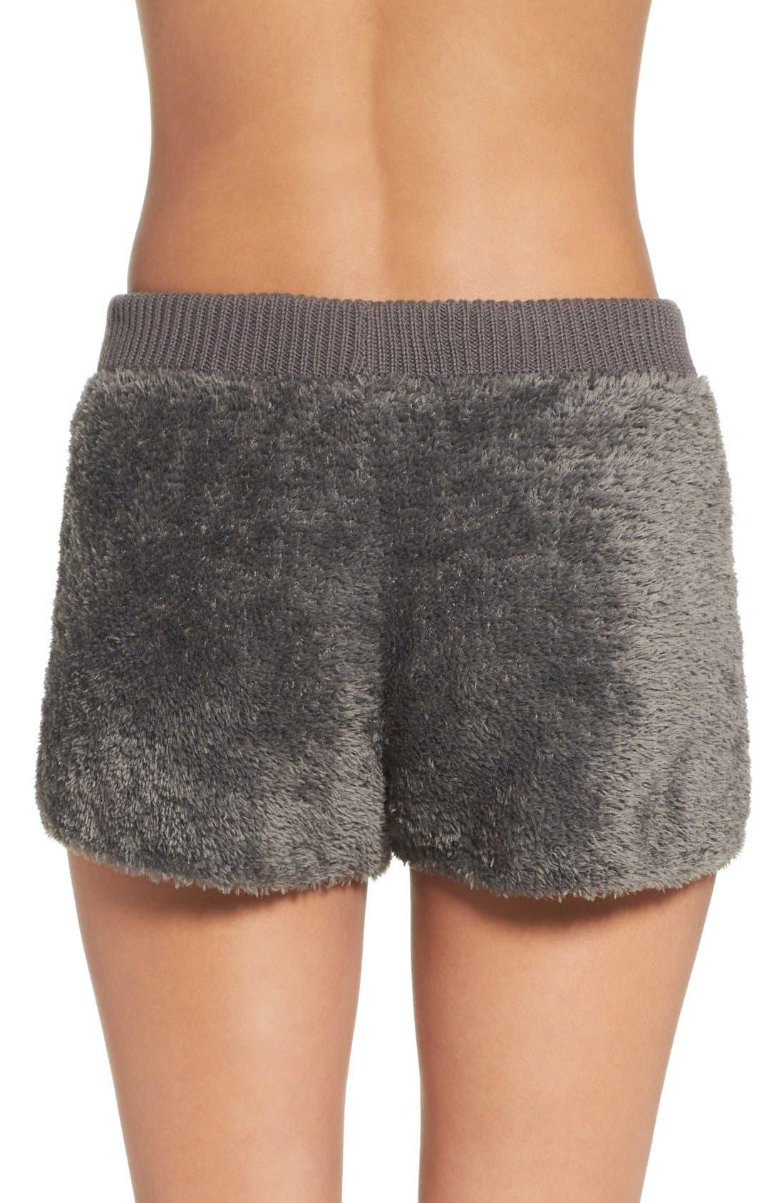 Fuzzy Lounge Shorts,                             Alternate thumbnail 26, color,