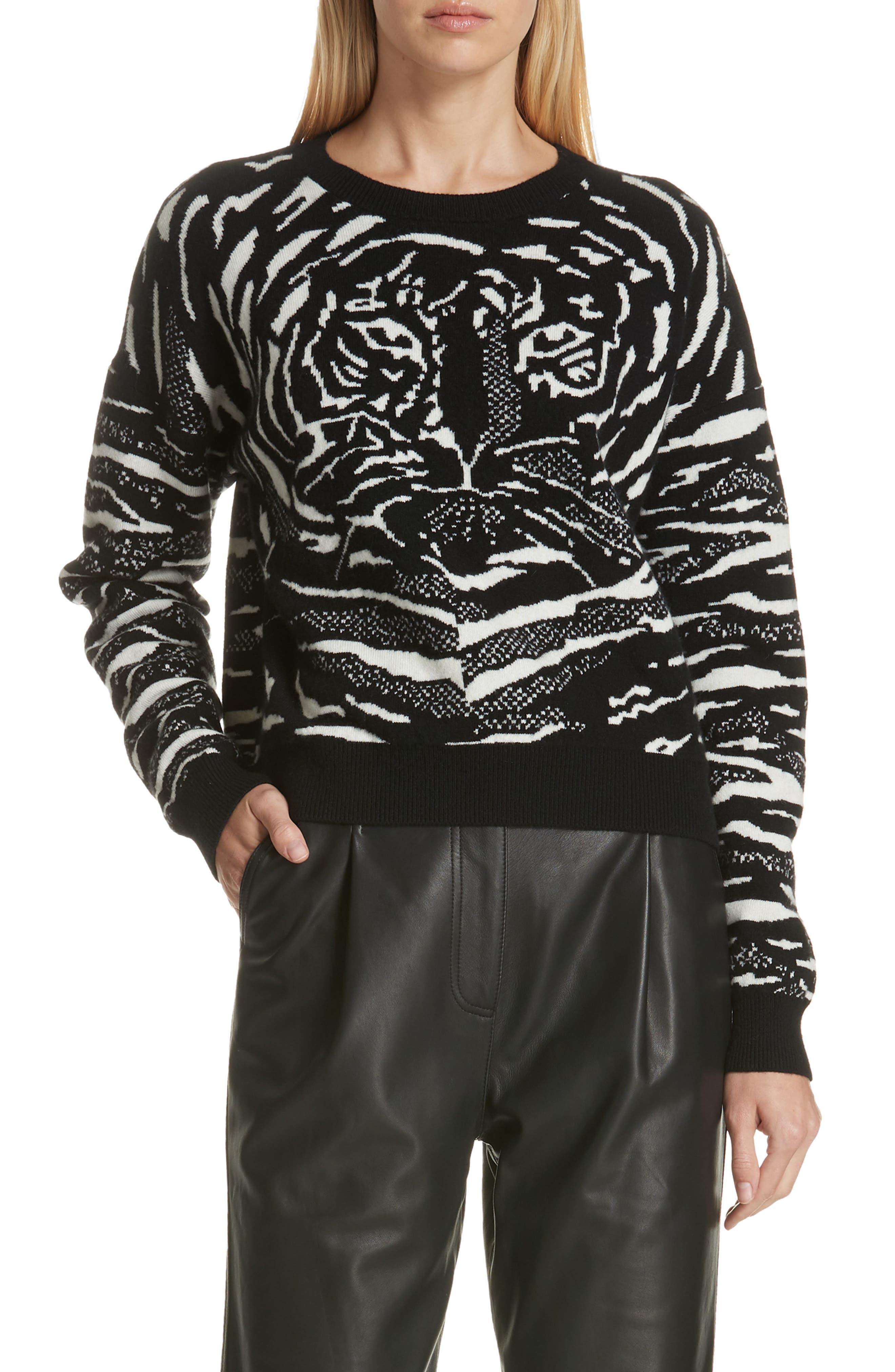 Robert Rodriguez Wool & Cashmere Sweater, Black