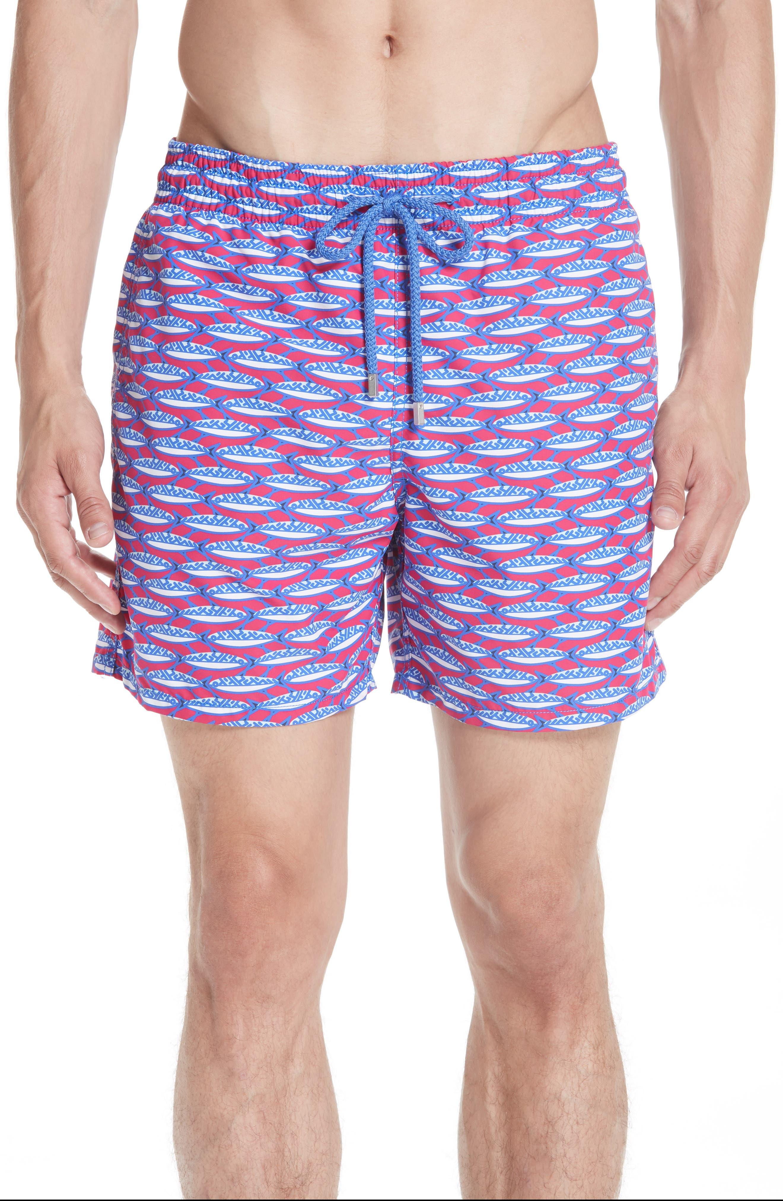 Marbella Print Swim Trunks,                         Main,                         color, MULTI