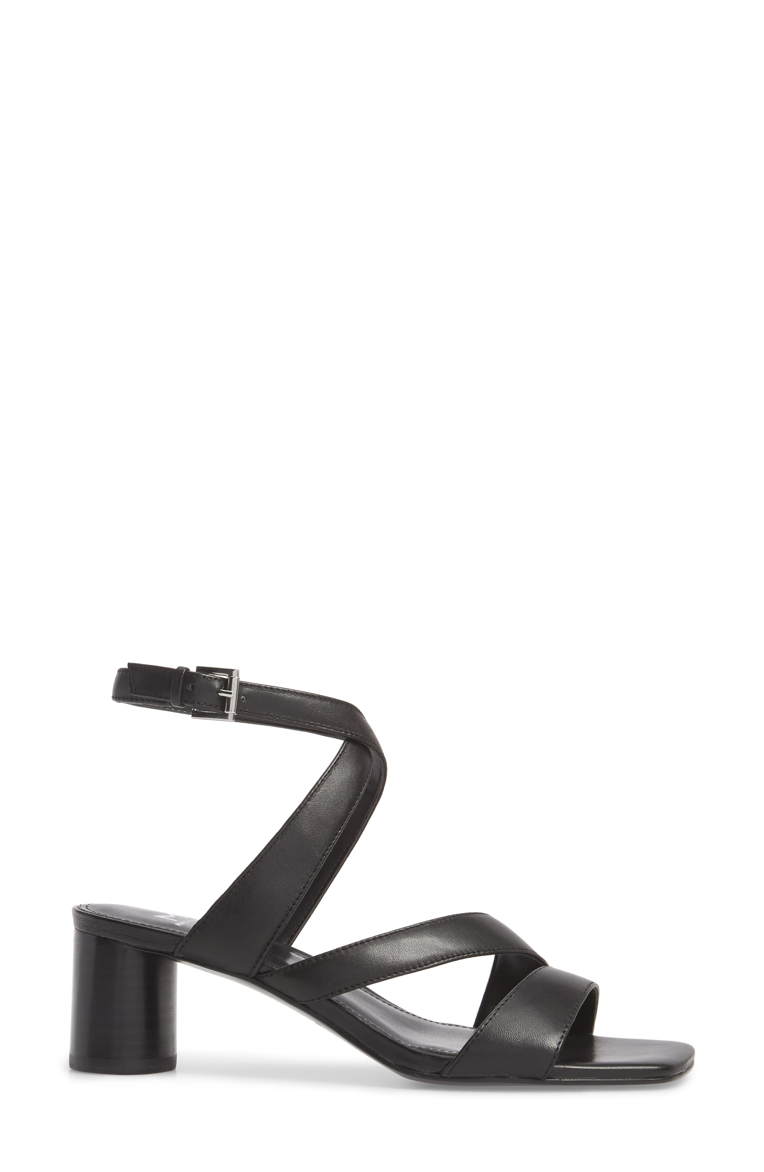 Marc Fischer LTD Idana Strappy Sandal,                             Alternate thumbnail 3, color,                             001