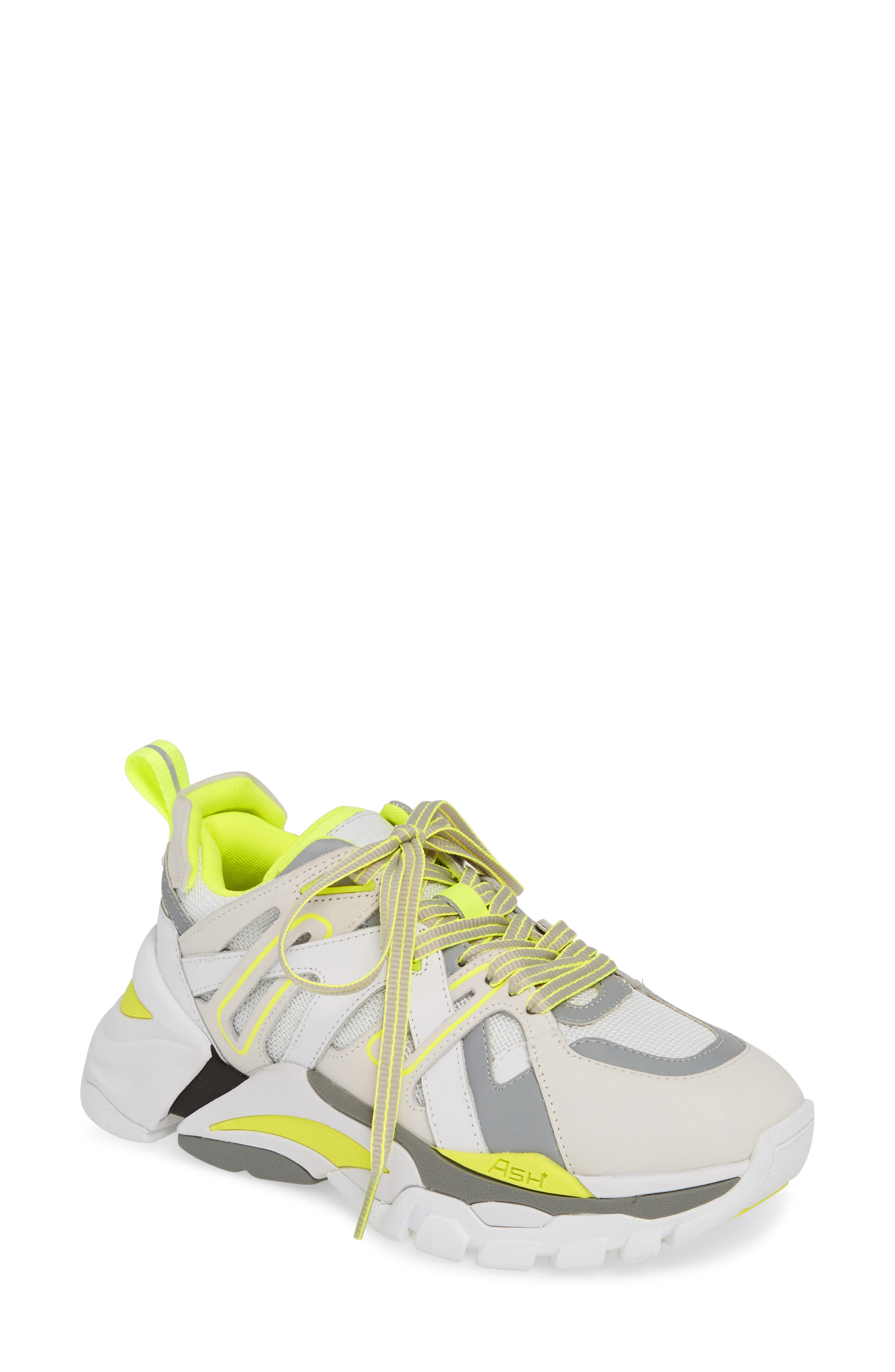 Ash Flash Sneaker, Yellow