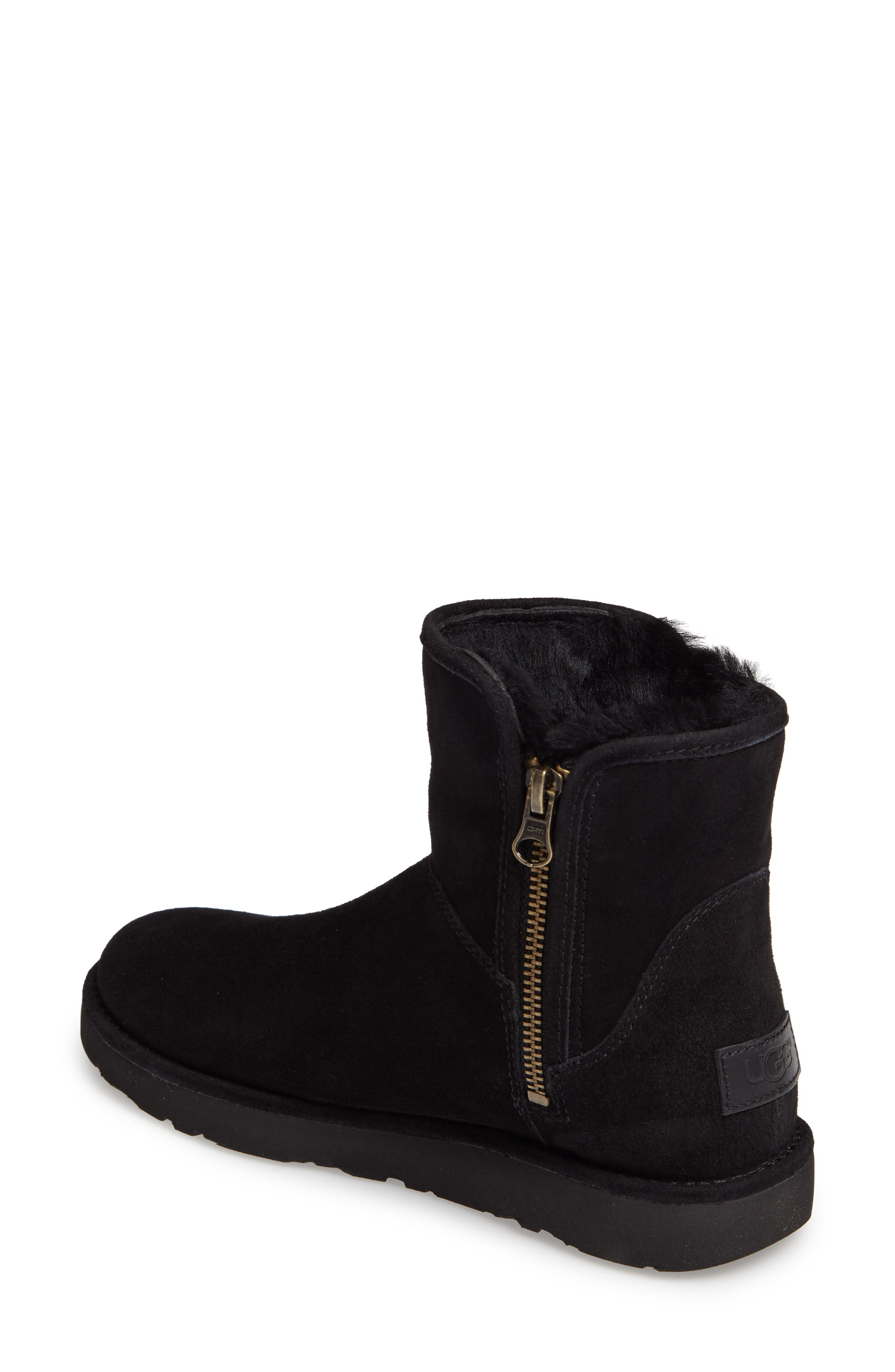 Abree II Mini Boot,                             Alternate thumbnail 3, color,                             NERO SUEDE