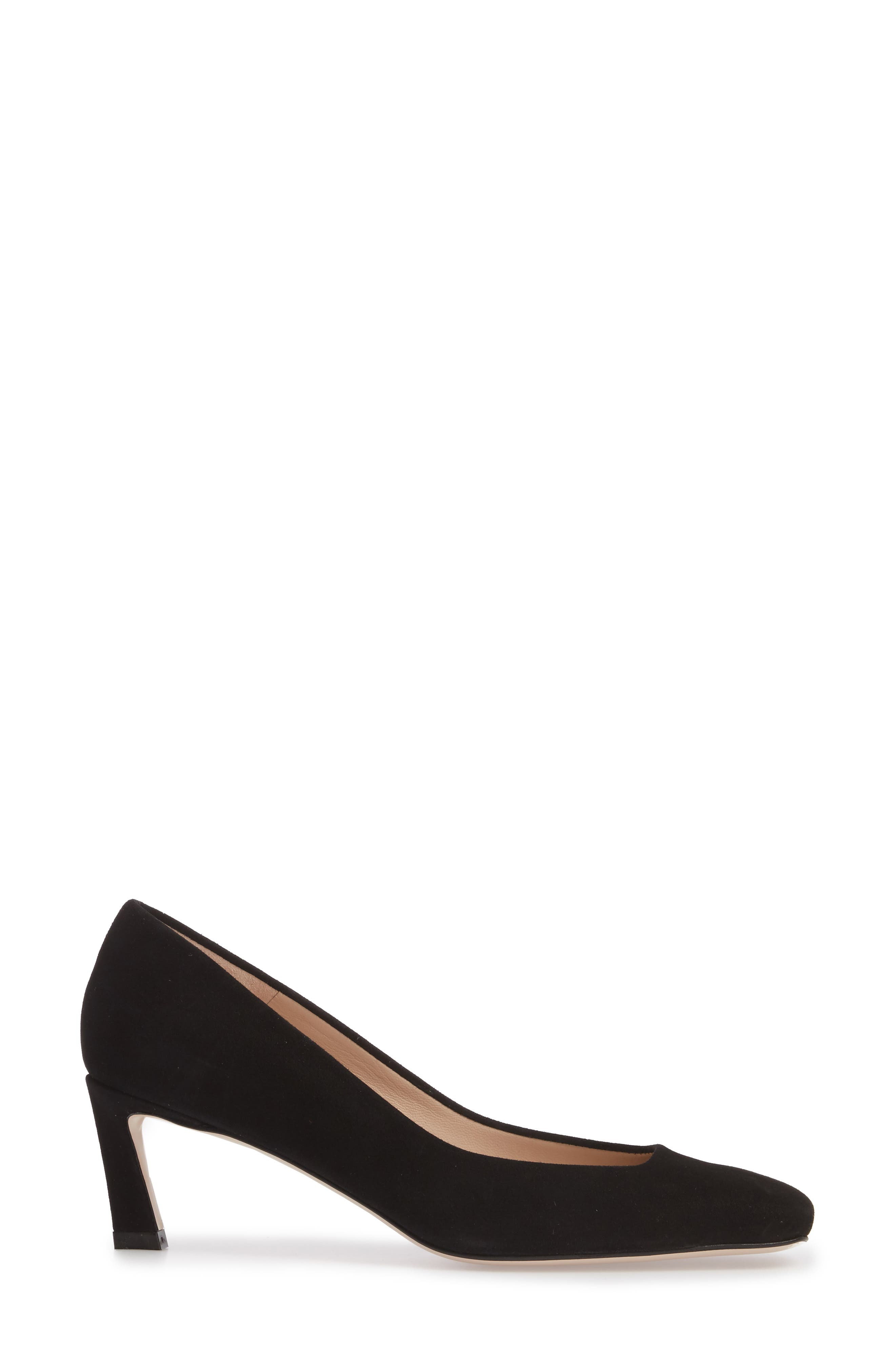 Chelsea Square Toe Pump,                             Alternate thumbnail 3, color,                             006