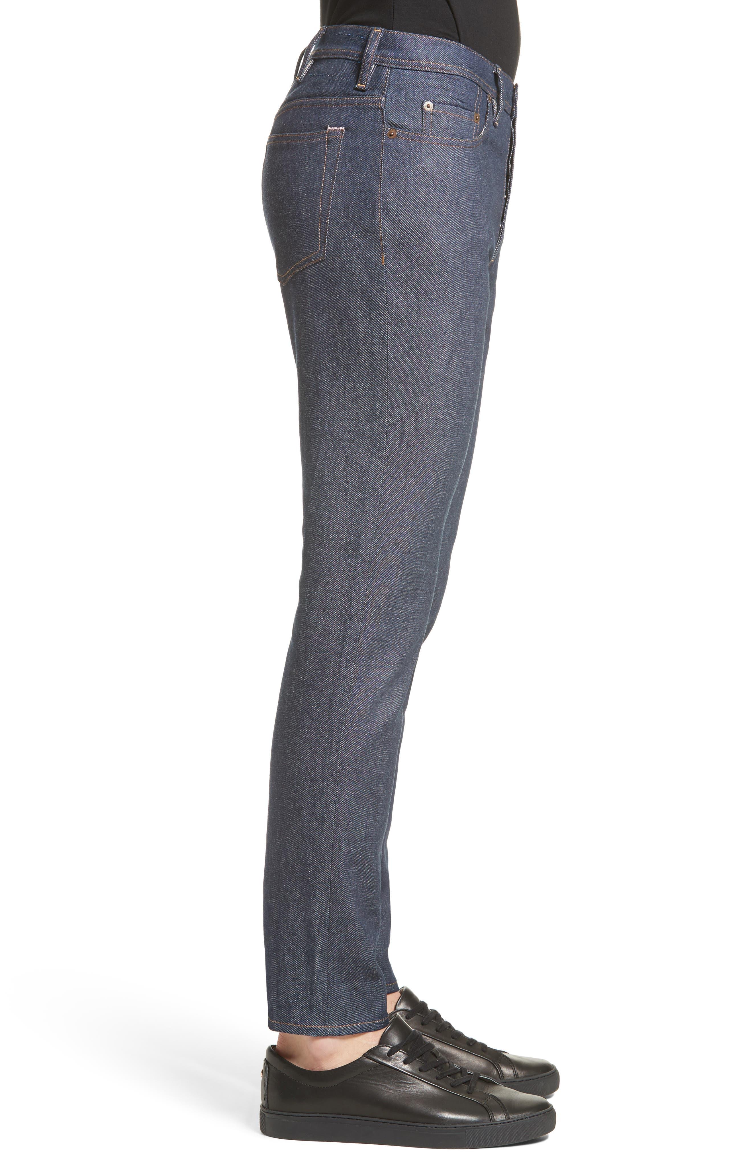 River Slim Tapered Leg Jeans,                             Alternate thumbnail 3, color,                             INDIGO