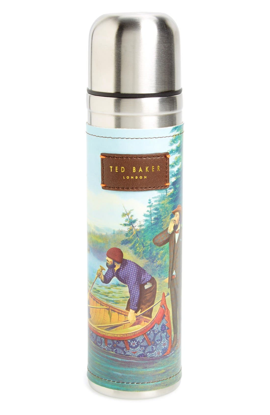 Ted Baker London Stainless Steel Thermos, Main, color, 300