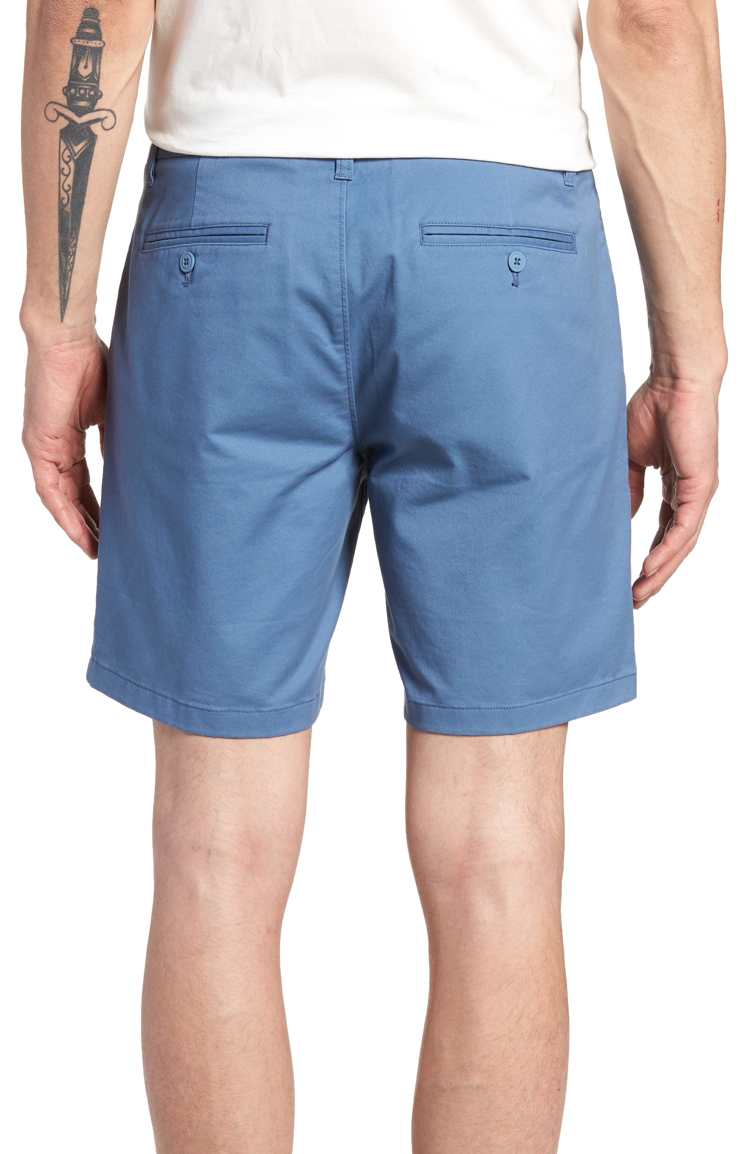 Stretch Chino 7-Inch Shorts,                             Alternate thumbnail 18, color,