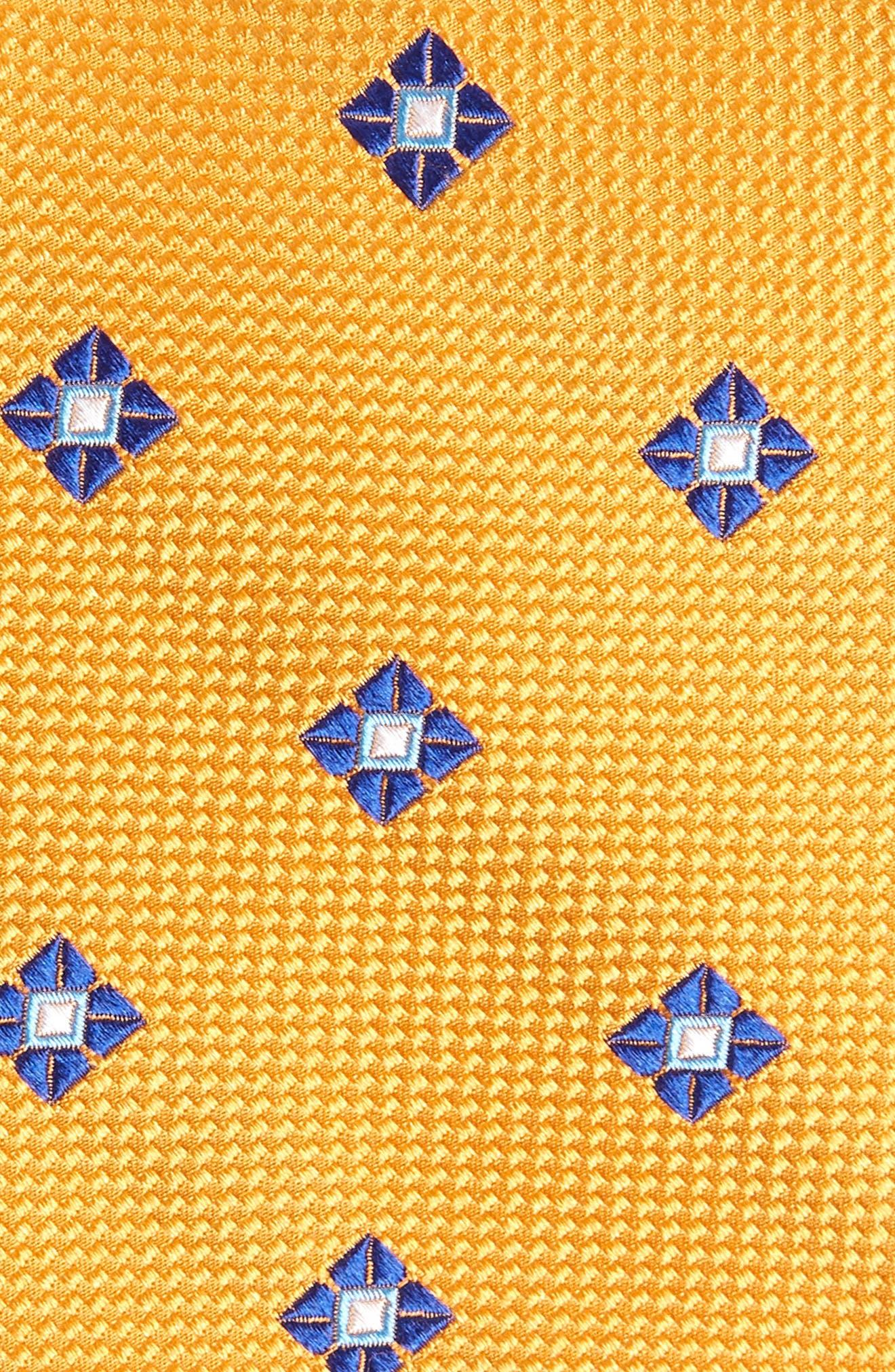 Oxford Medallion Silk Tie,                             Alternate thumbnail 12, color,