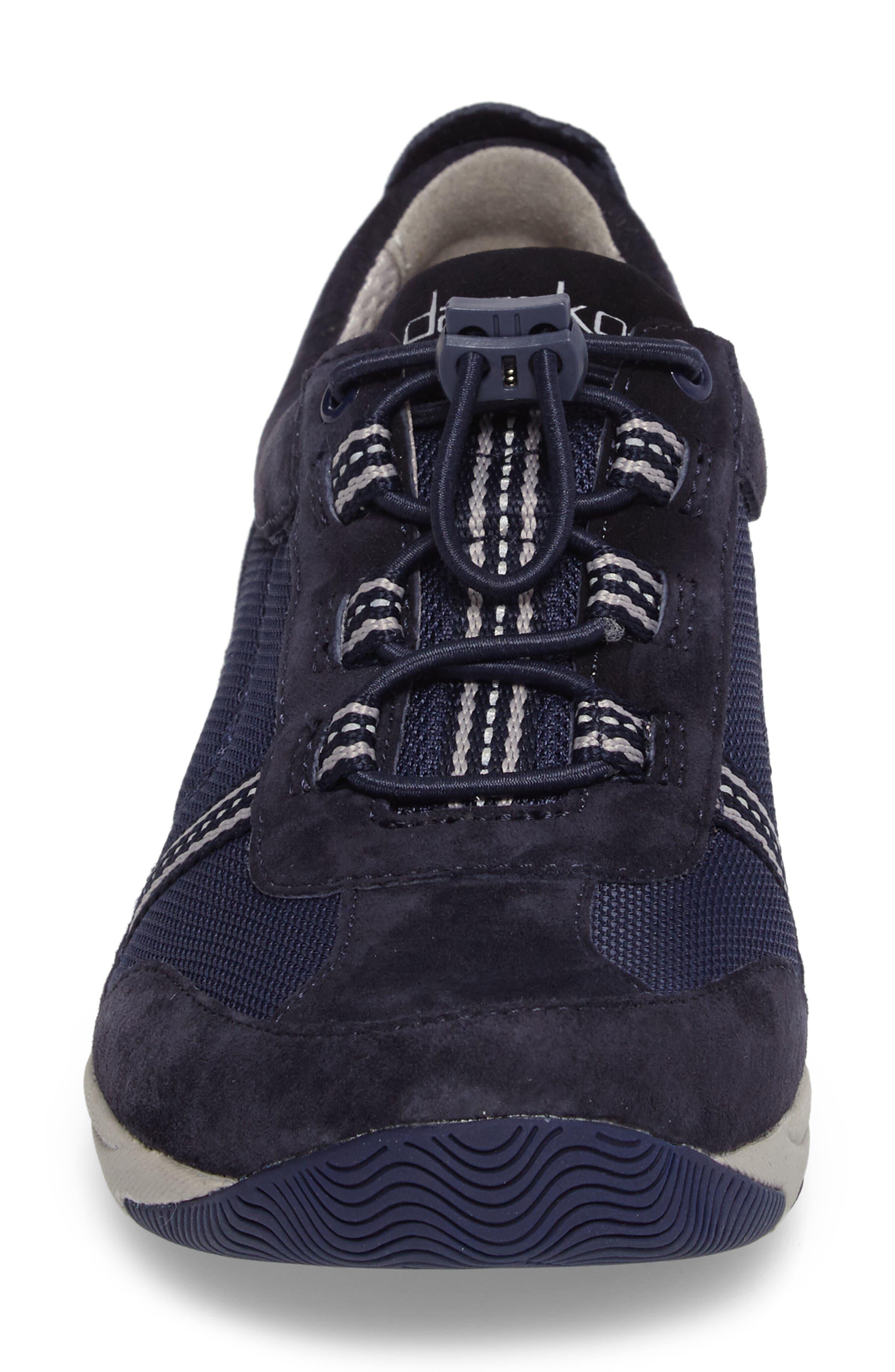 'Helen' Suede & Mesh Sneaker,                             Alternate thumbnail 59, color,