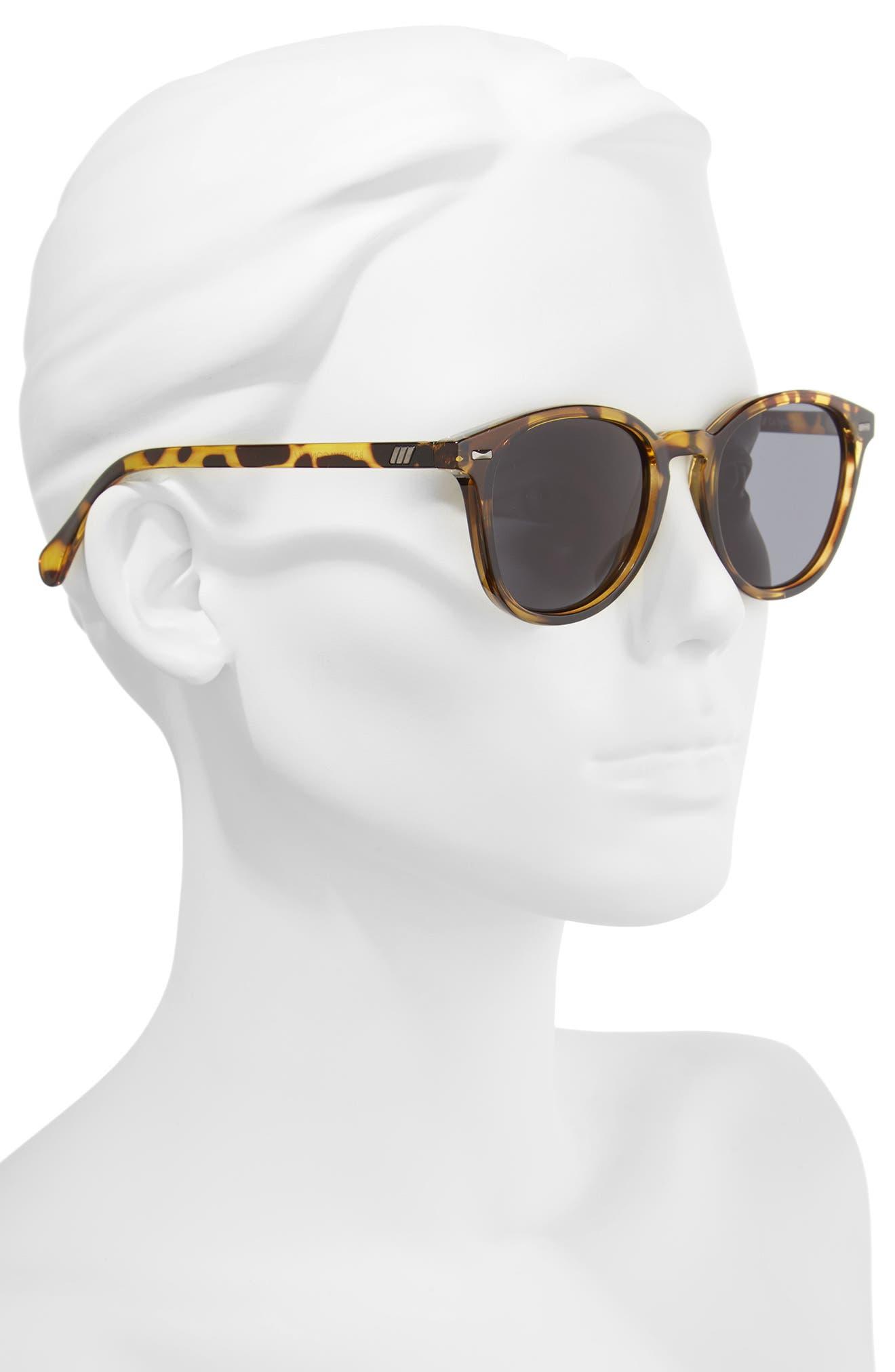 Bandwagon 50mm Sunglasses,                             Alternate thumbnail 2, color,                             SYRUP TORTOISE