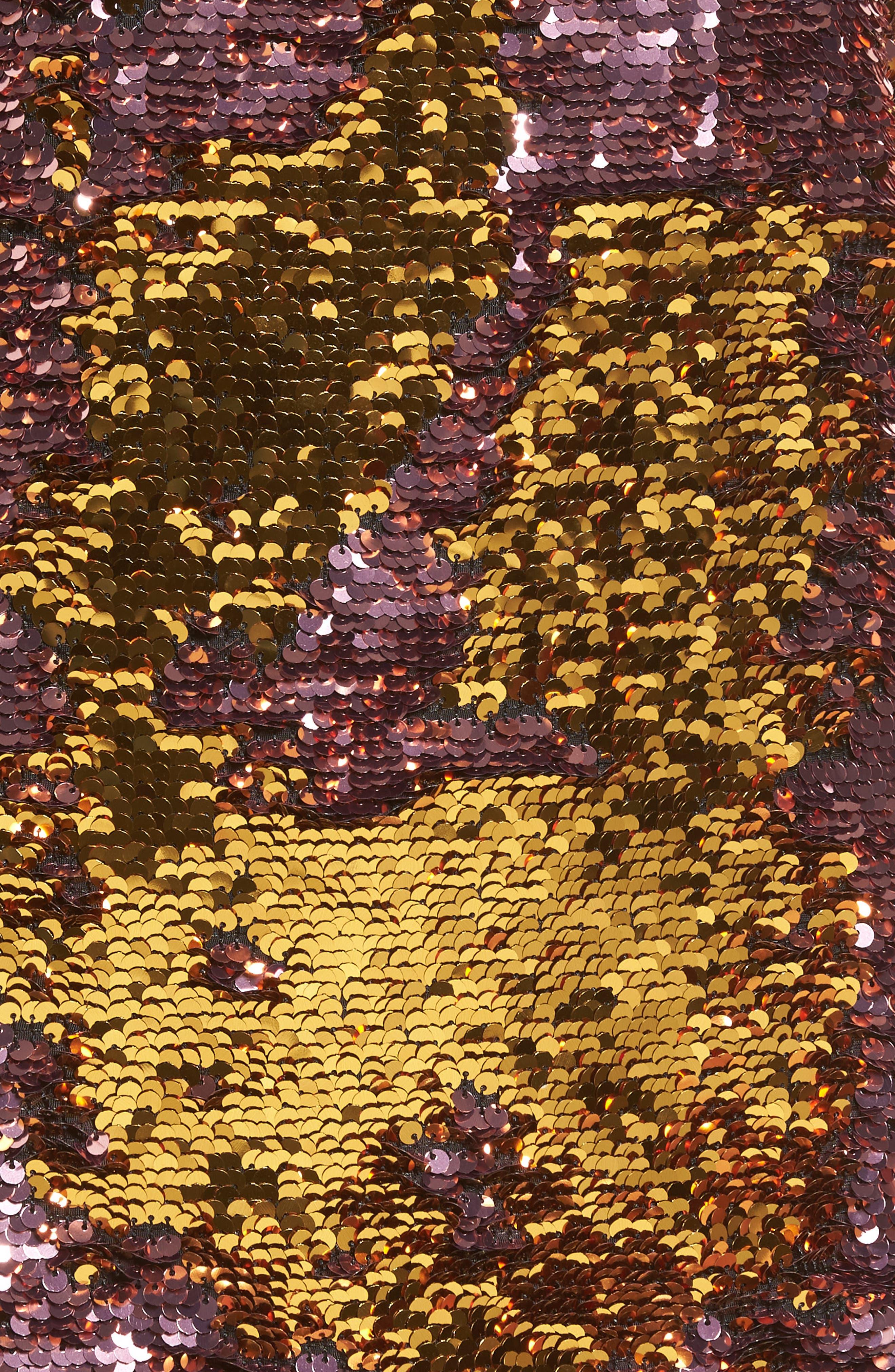 Sparklers Sequin Minidress,                             Alternate thumbnail 5, color,                             650