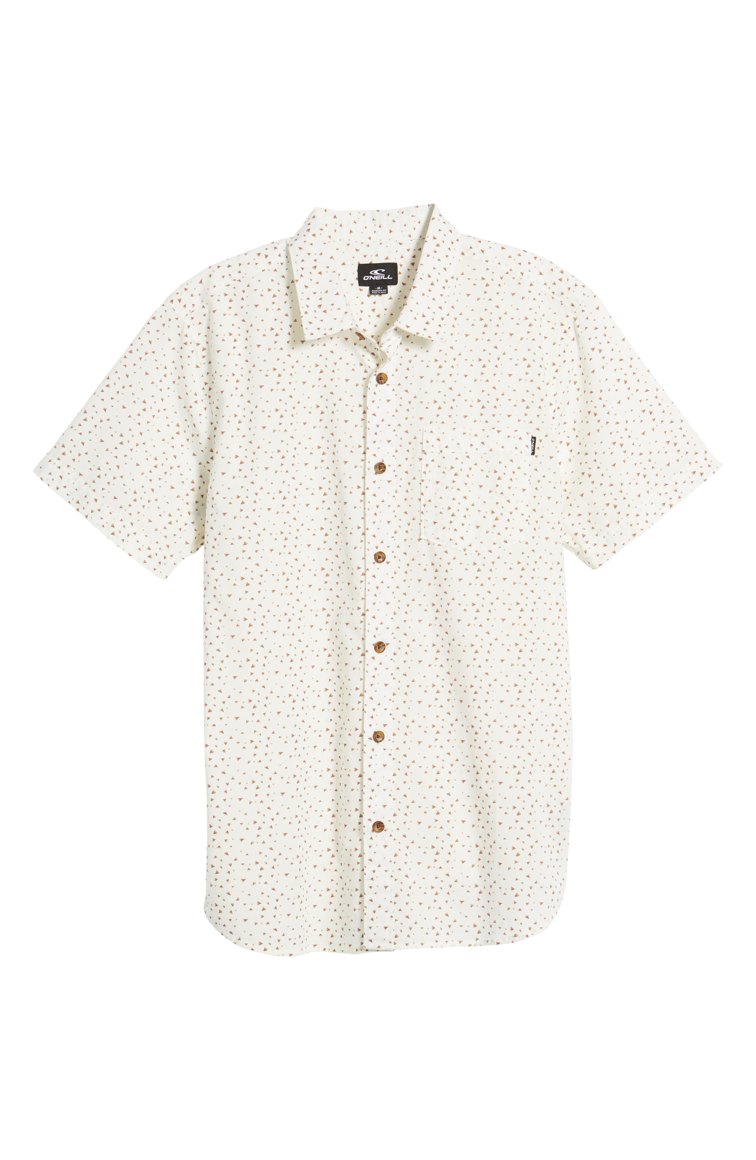 Rowdy Woven Shirt,                             Alternate thumbnail 6, color,                             100