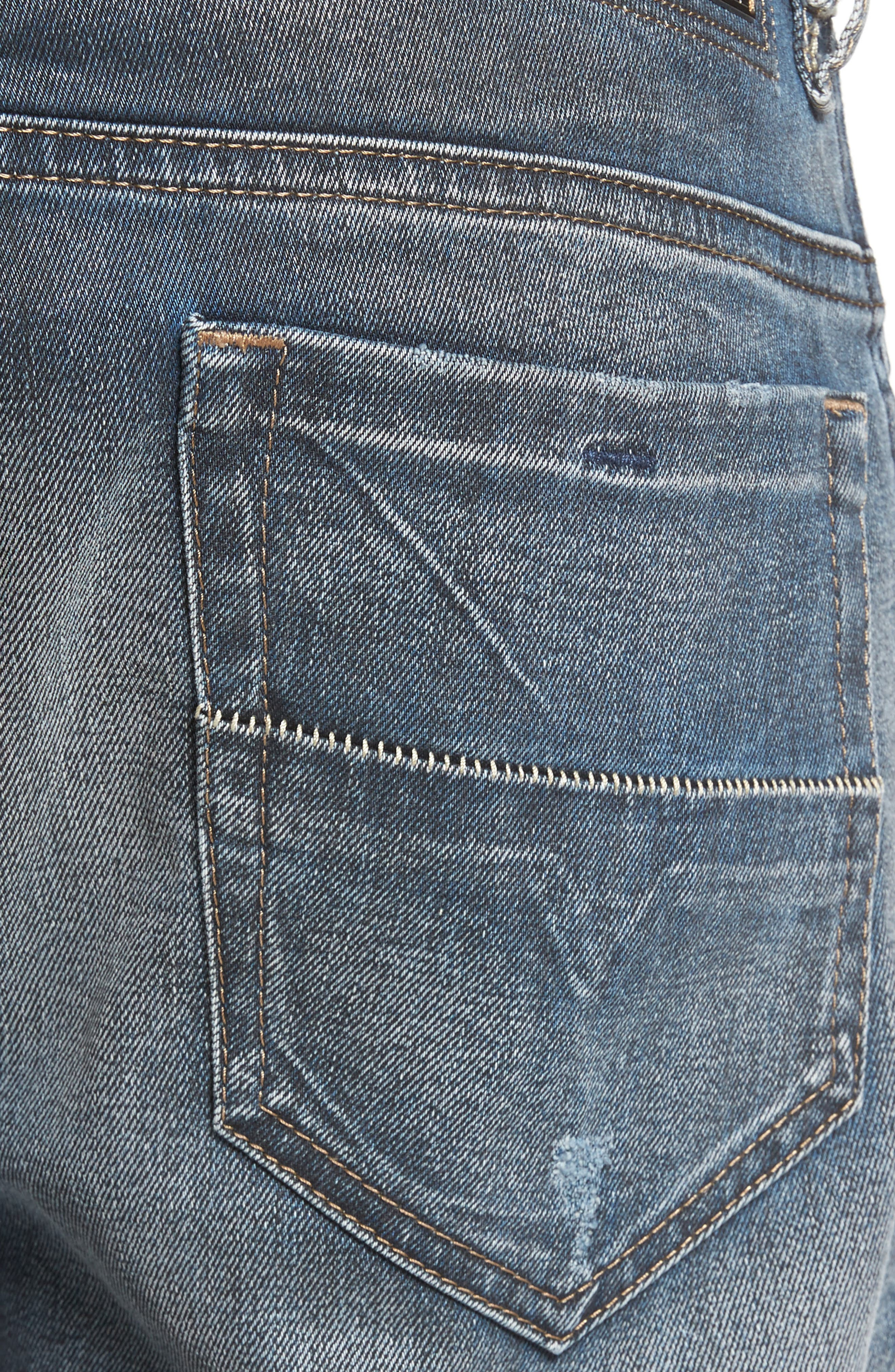 Thommer Slim Fit Jeans,                             Alternate thumbnail 4, color,                             400