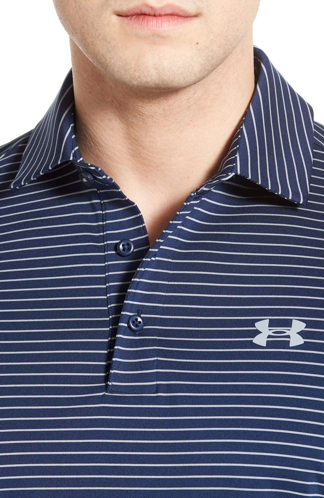 'Playoff' Loose Fit Short Sleeve Polo,                             Alternate thumbnail 146, color,