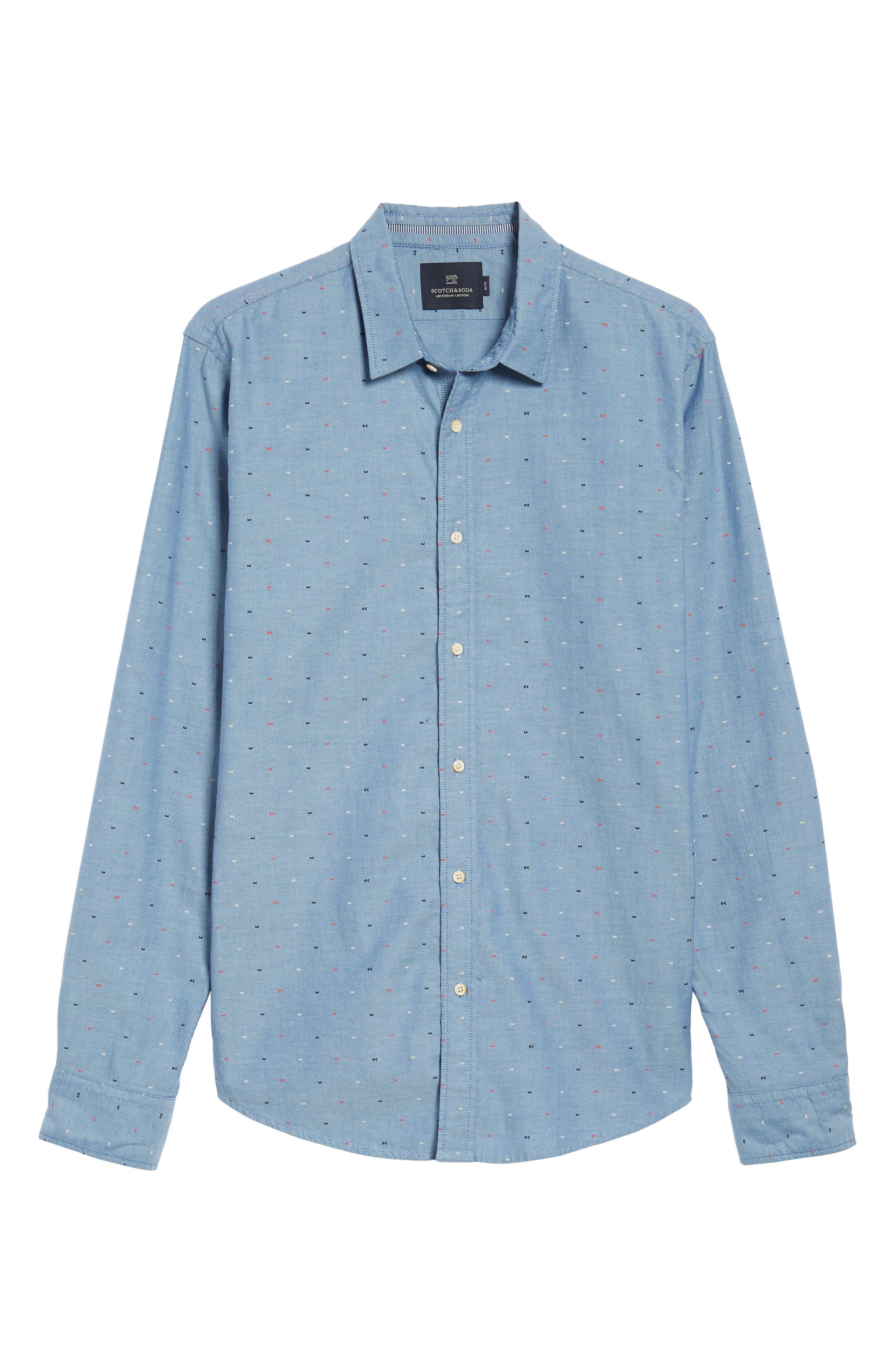 Classic Oxford Shirt,                             Alternate thumbnail 6, color,