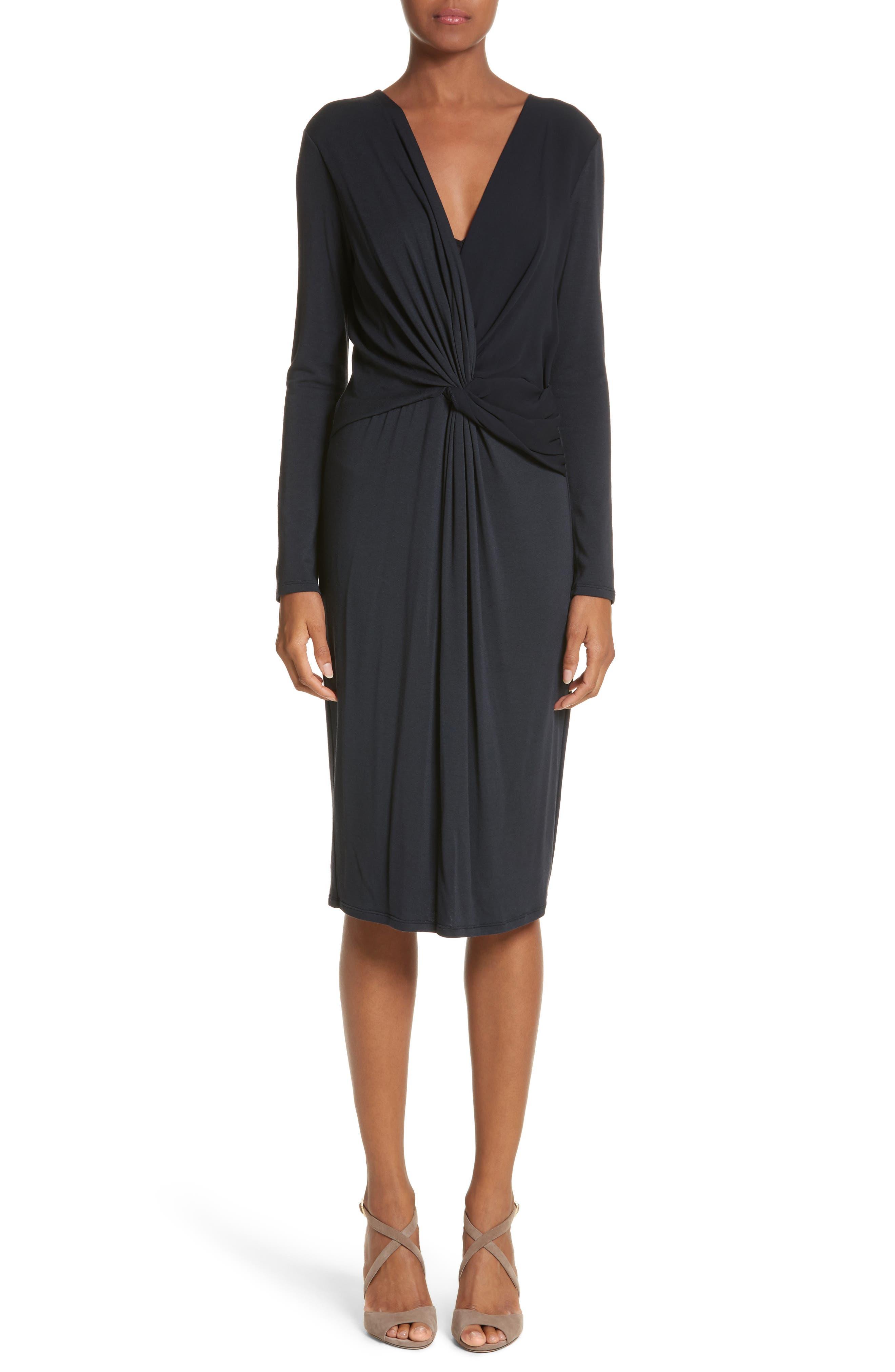 Petalo Twisted Dress,                             Main thumbnail 1, color,