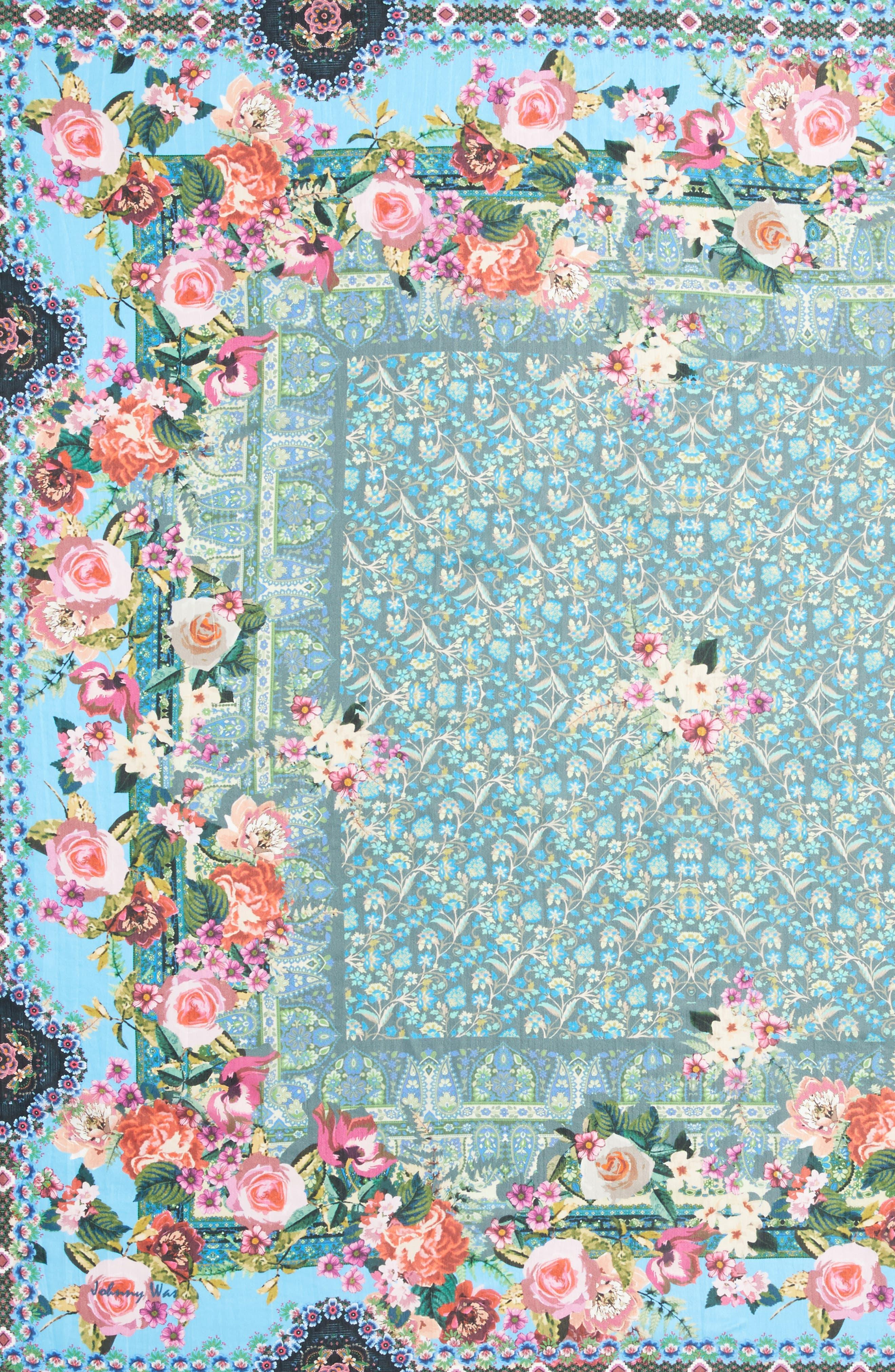 Besimo Silk Square Scarf,                             Alternate thumbnail 4, color,                             400