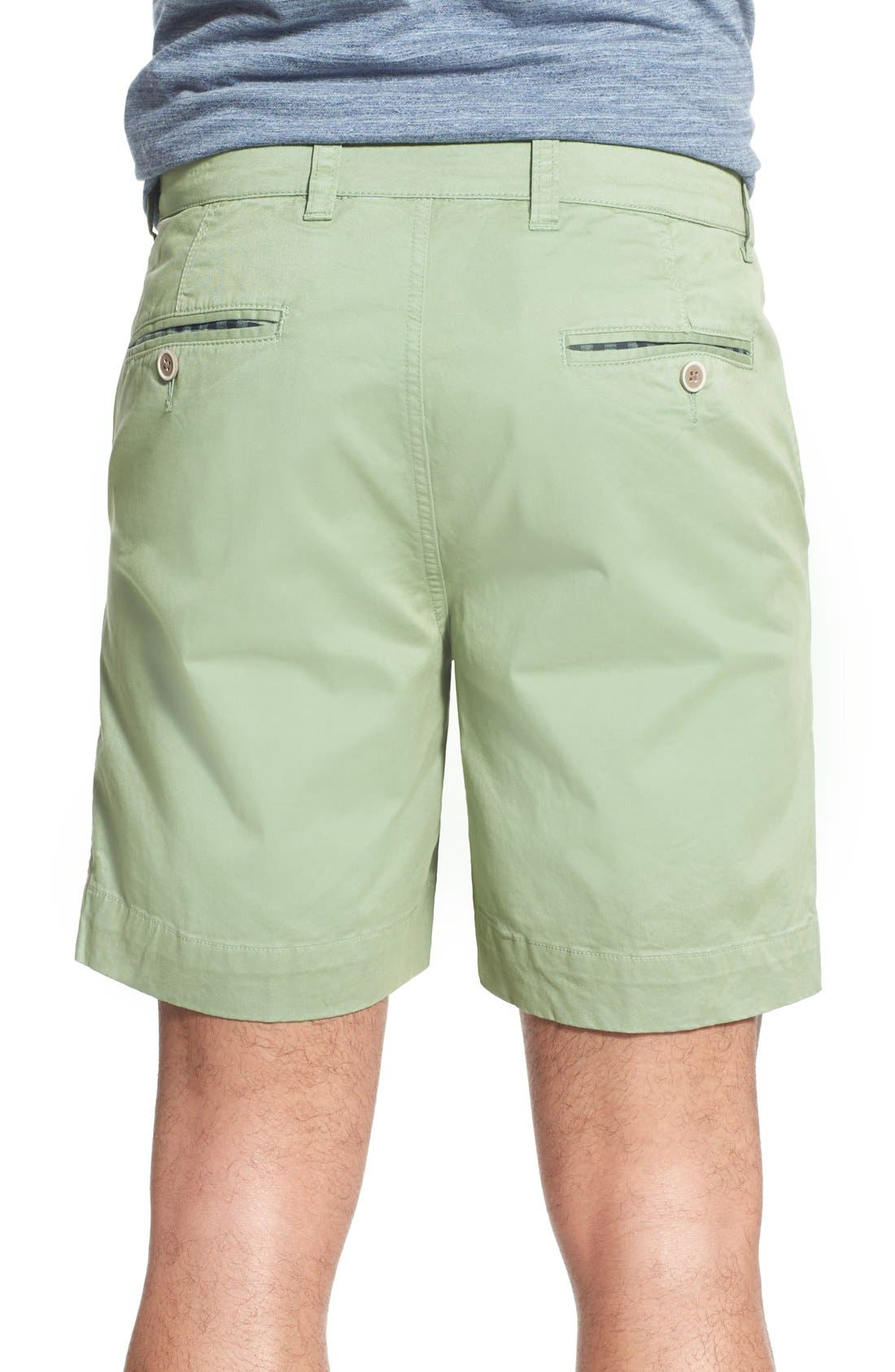 'Sunny' Stretch Twill Chino Shorts,                             Alternate thumbnail 12, color,