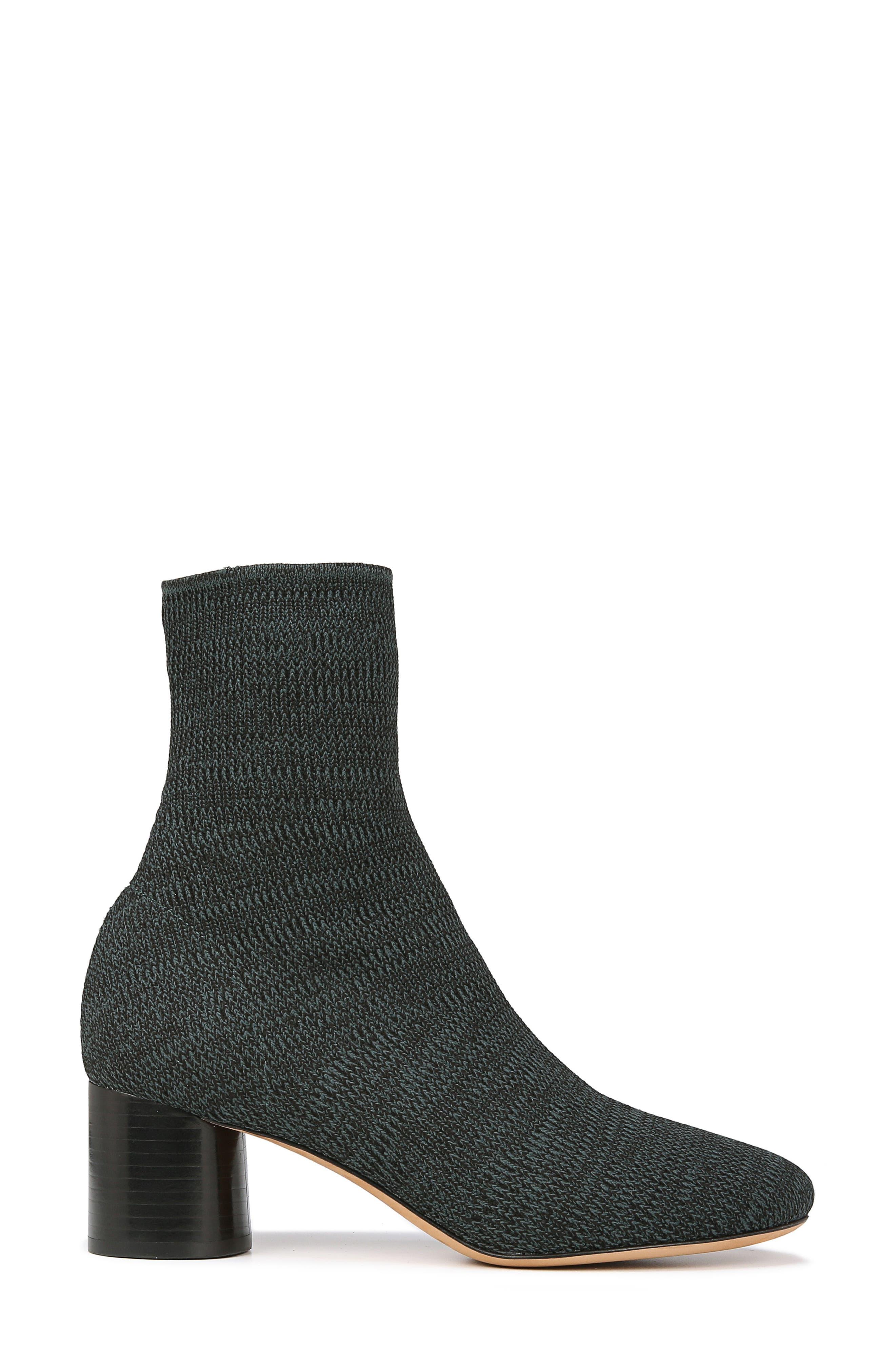 Tasha Sock Bootie,                             Alternate thumbnail 3, color,                             JUNIPER