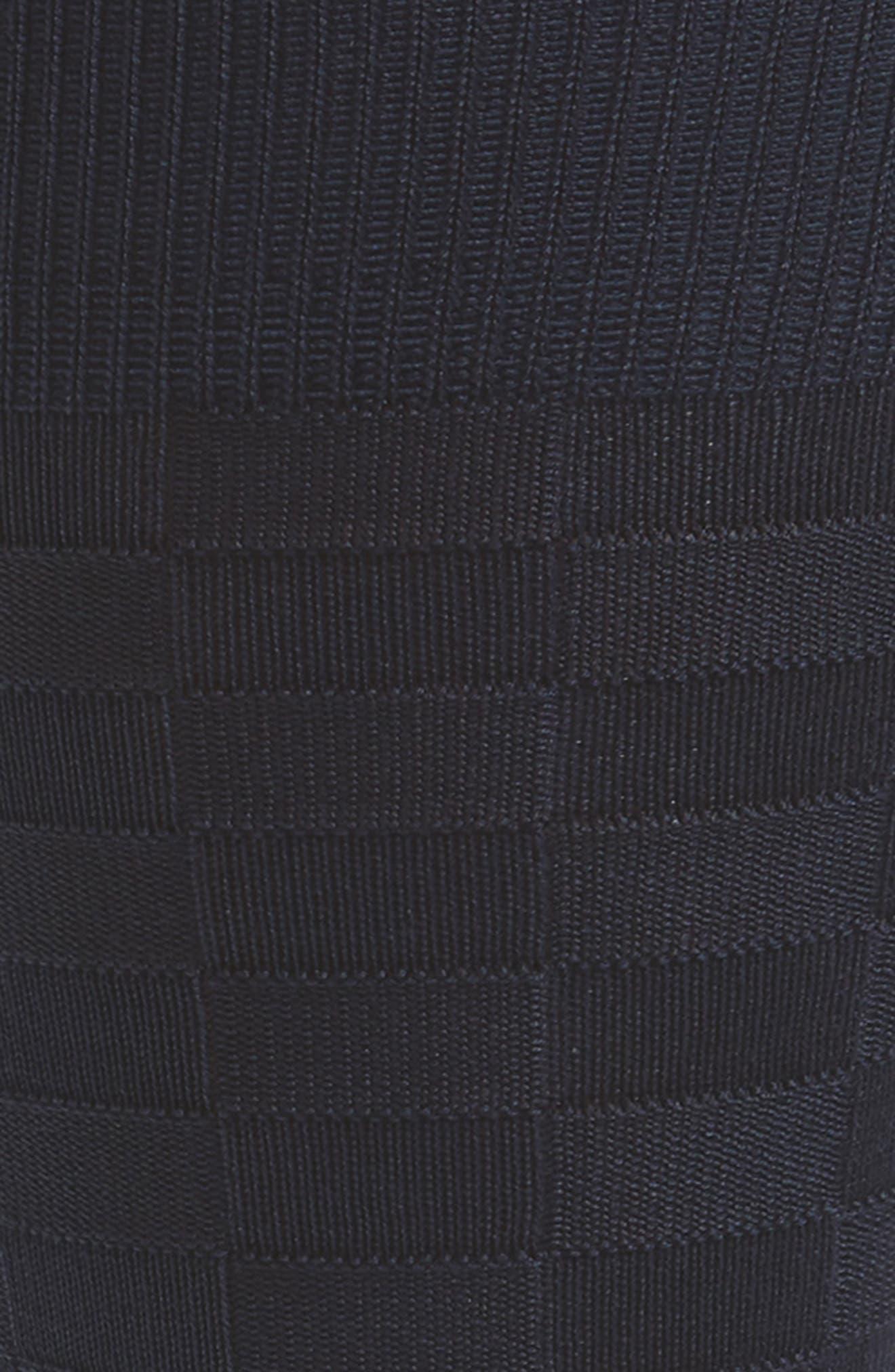 Grid Socks,                             Alternate thumbnail 2, color,                             NAVY