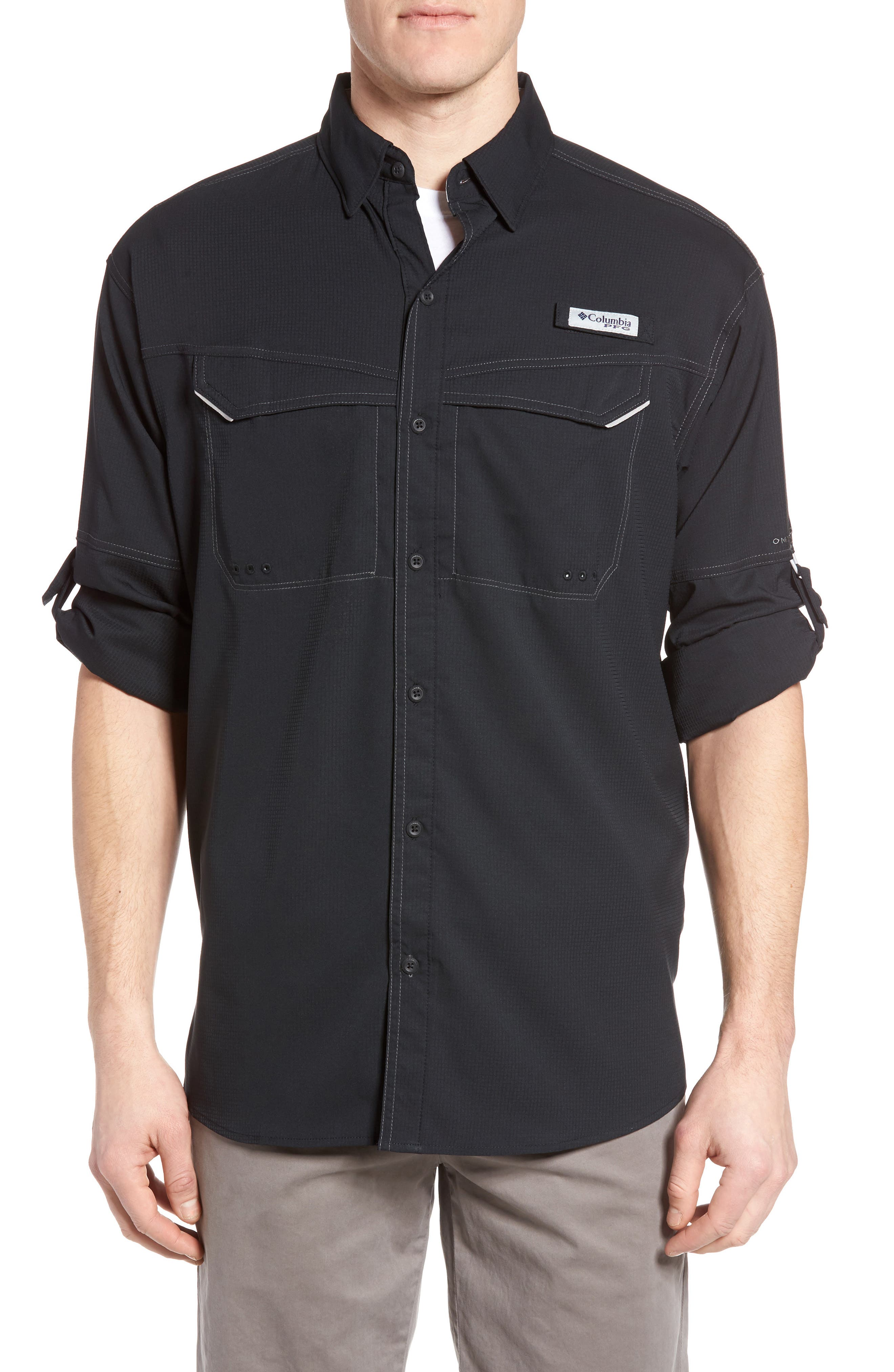 Low Drag Offshore Woven Shirt,                             Main thumbnail 6, color,