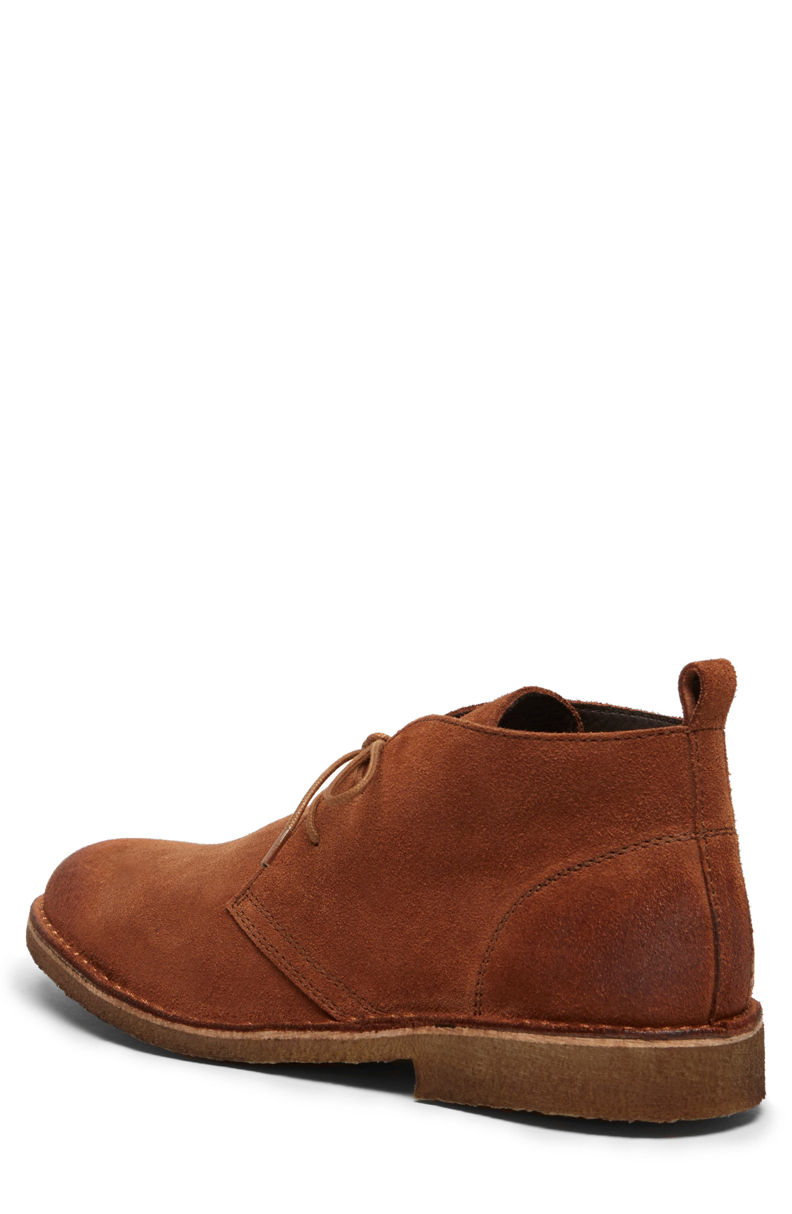Hewitt Chukka Boot,                             Alternate thumbnail 2, color,                             RUST SUEDE