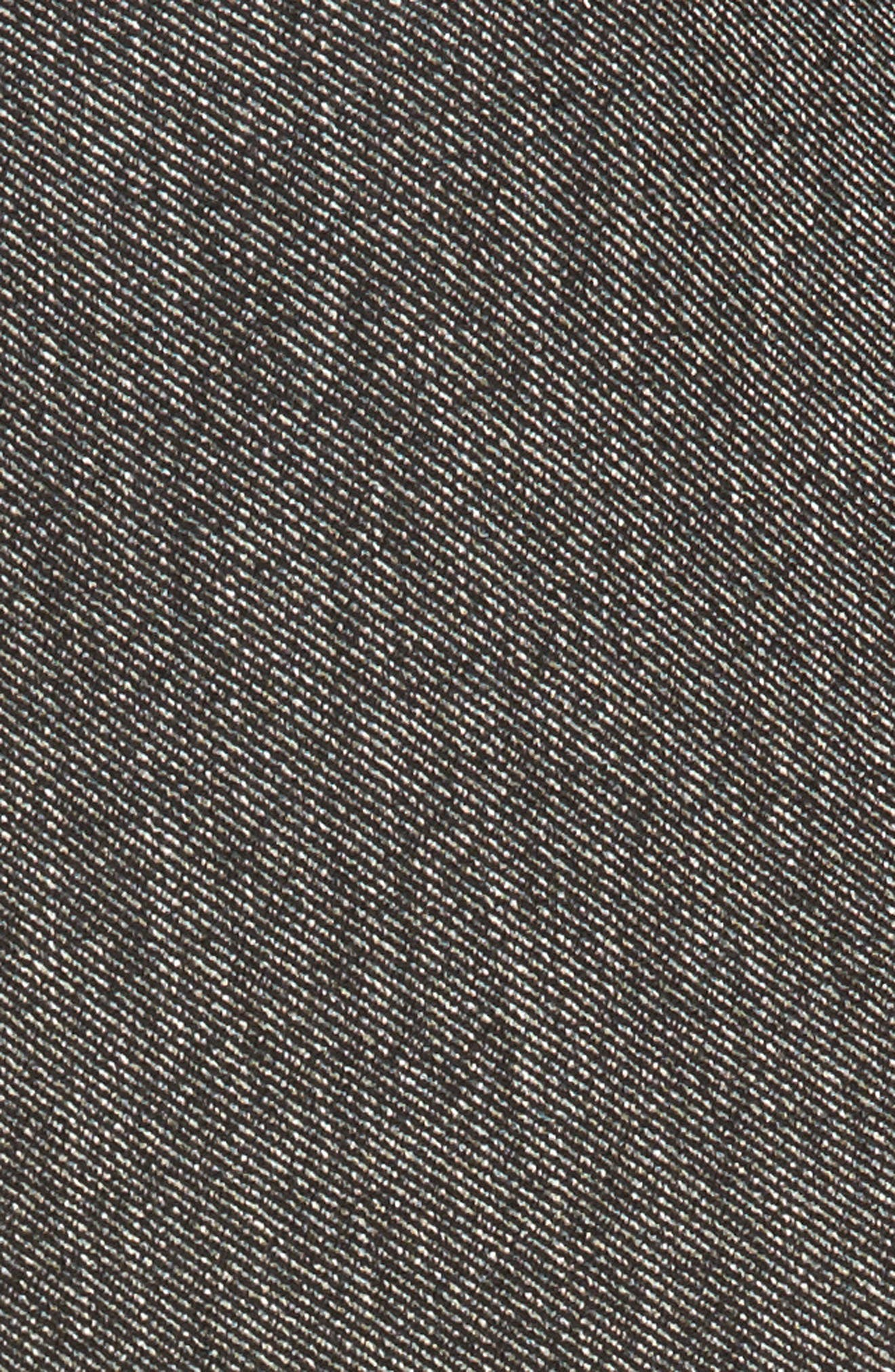 Asymmetrical Tweed Skirt,                             Alternate thumbnail 5, color,                             001