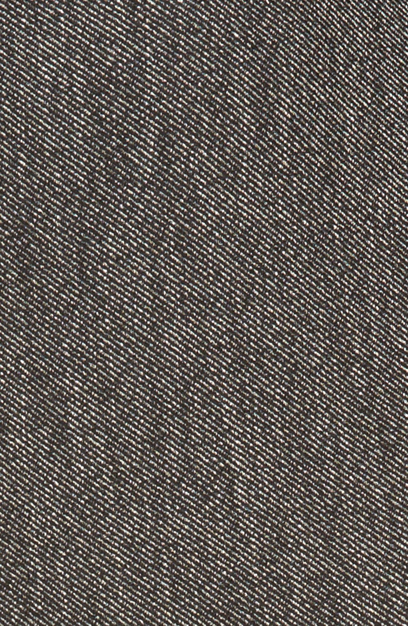 Asymmetrical Tweed Skirt,                             Alternate thumbnail 5, color,                             001