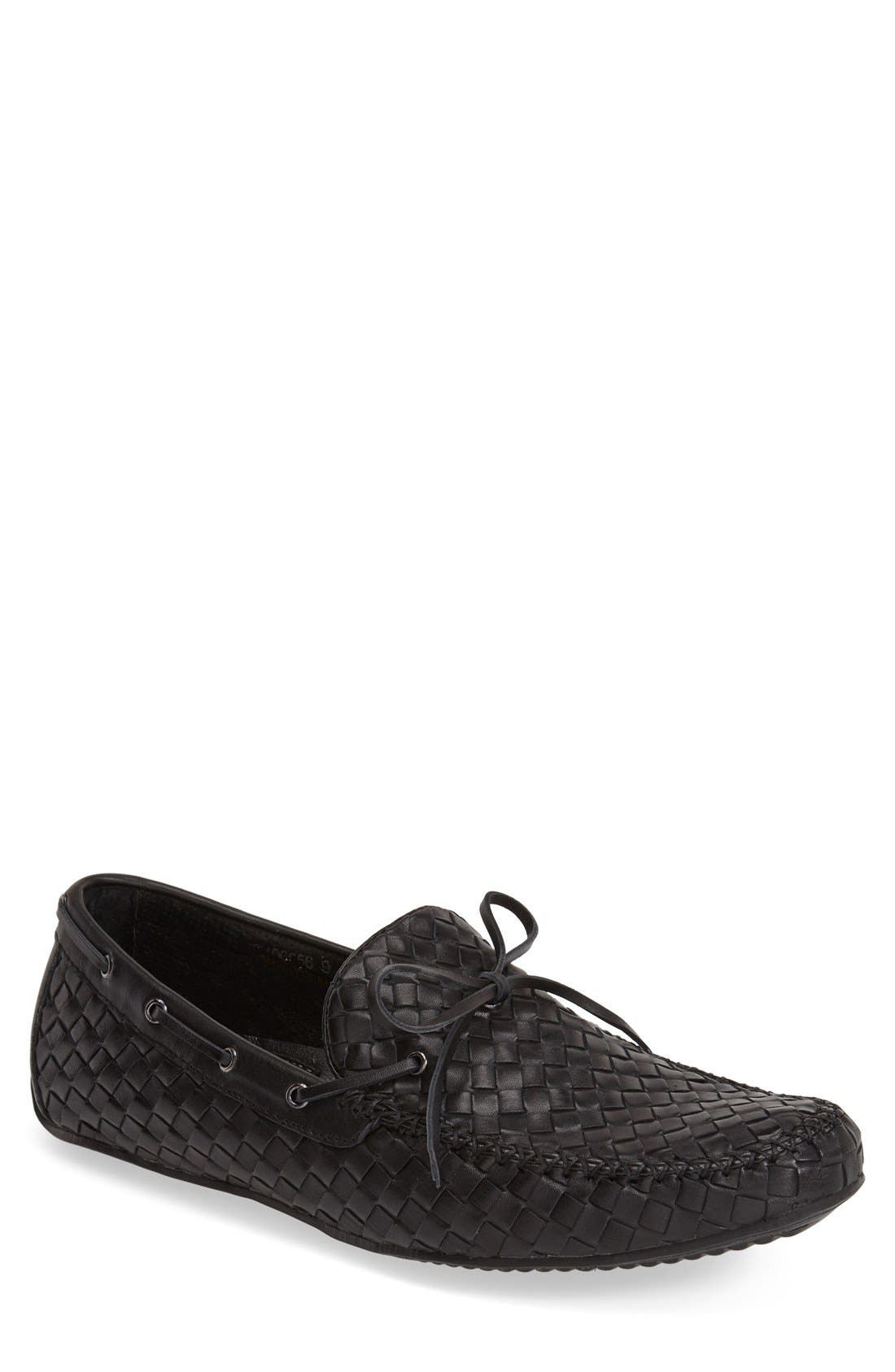Leather Loafer,                             Main thumbnail 2, color,