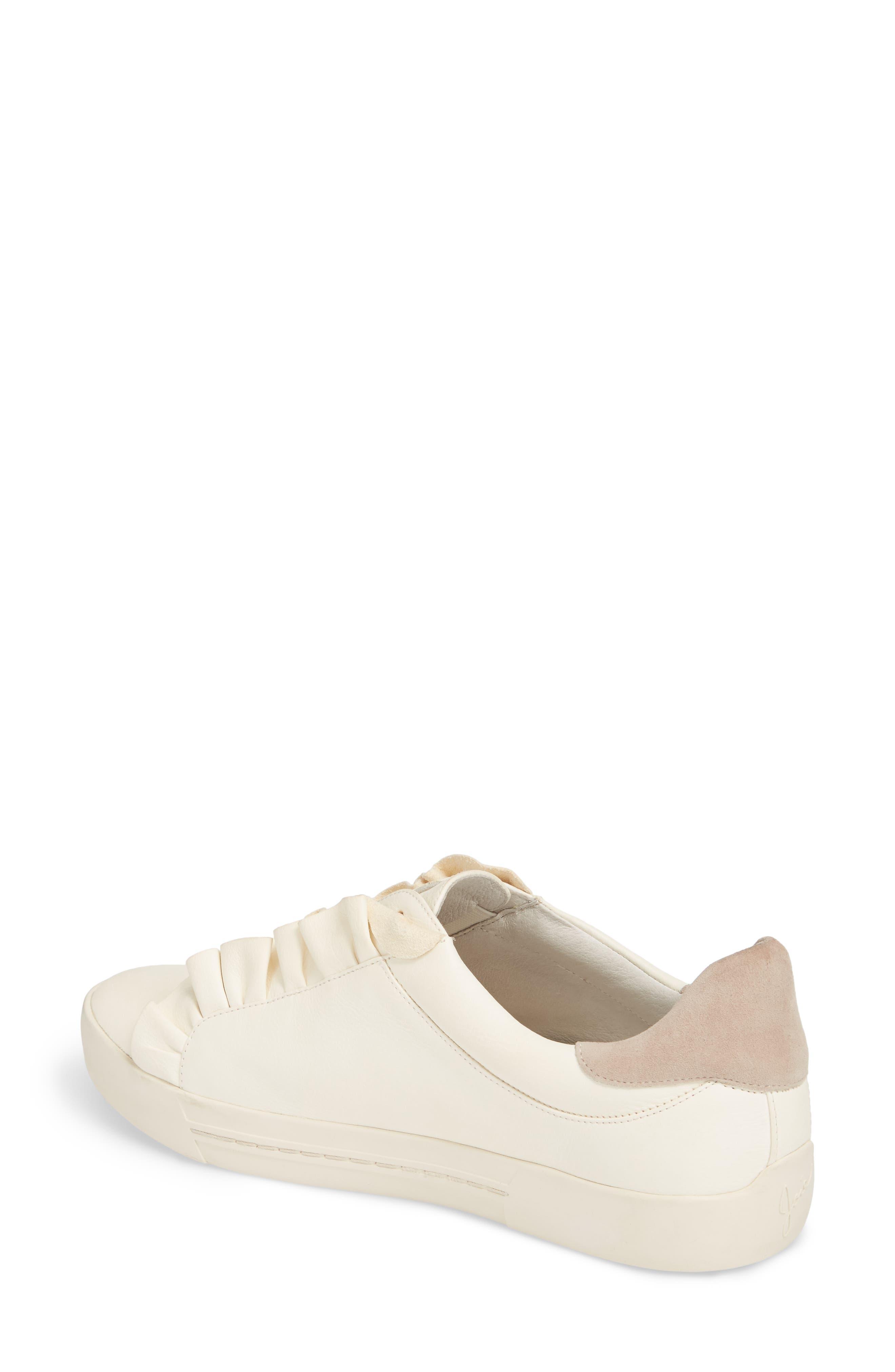 Daw Ruffle Slip-On Sneaker,                             Alternate thumbnail 2, color,                             900