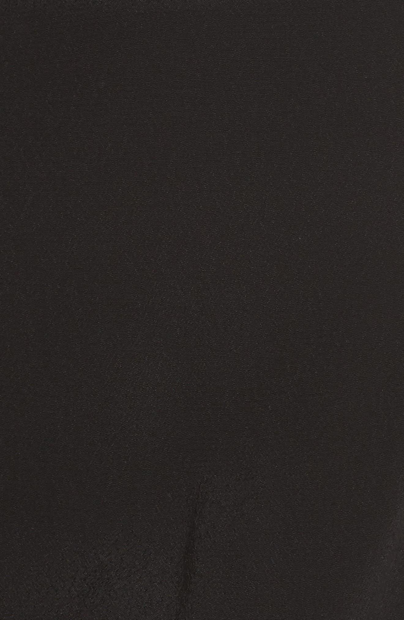 Ruffle Halter Jumpsuit,                             Alternate thumbnail 5, color,                             002