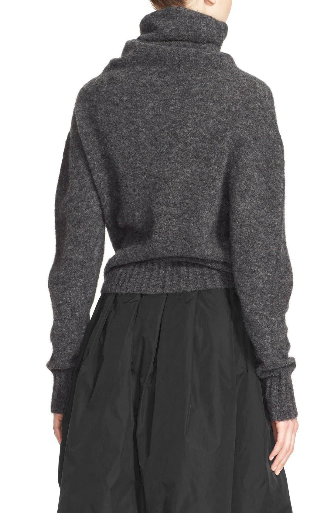 'Voletta Mohair' Turtleneck Sweater,                             Alternate thumbnail 3, color,                             021