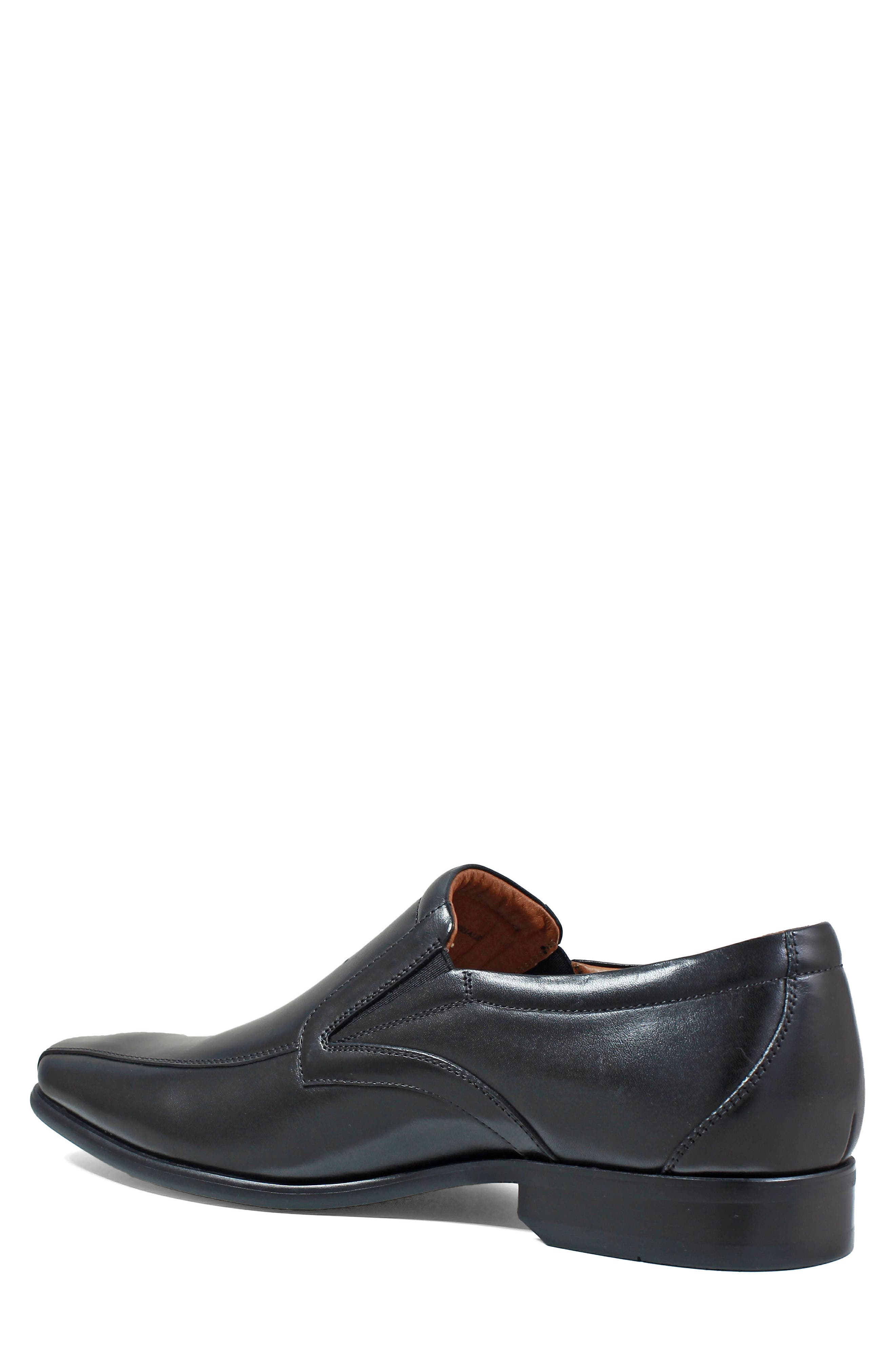 Postino Bike Toe Slip-On,                             Alternate thumbnail 2, color,                             BLACK LEATHER