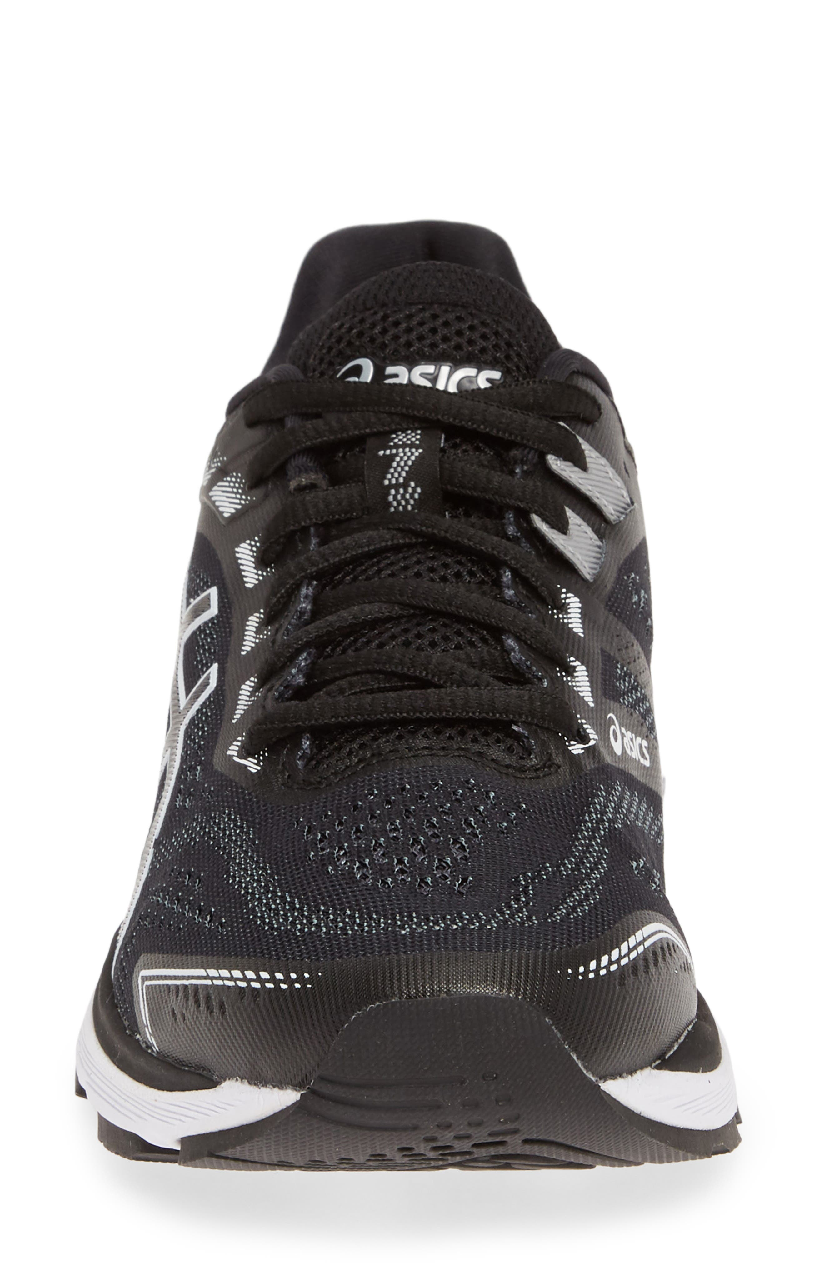 ASICS<SUP>®</SUP>,                             GT-2000 7 Running Shoe,                             Alternate thumbnail 4, color,                             BLACK/ WHITE