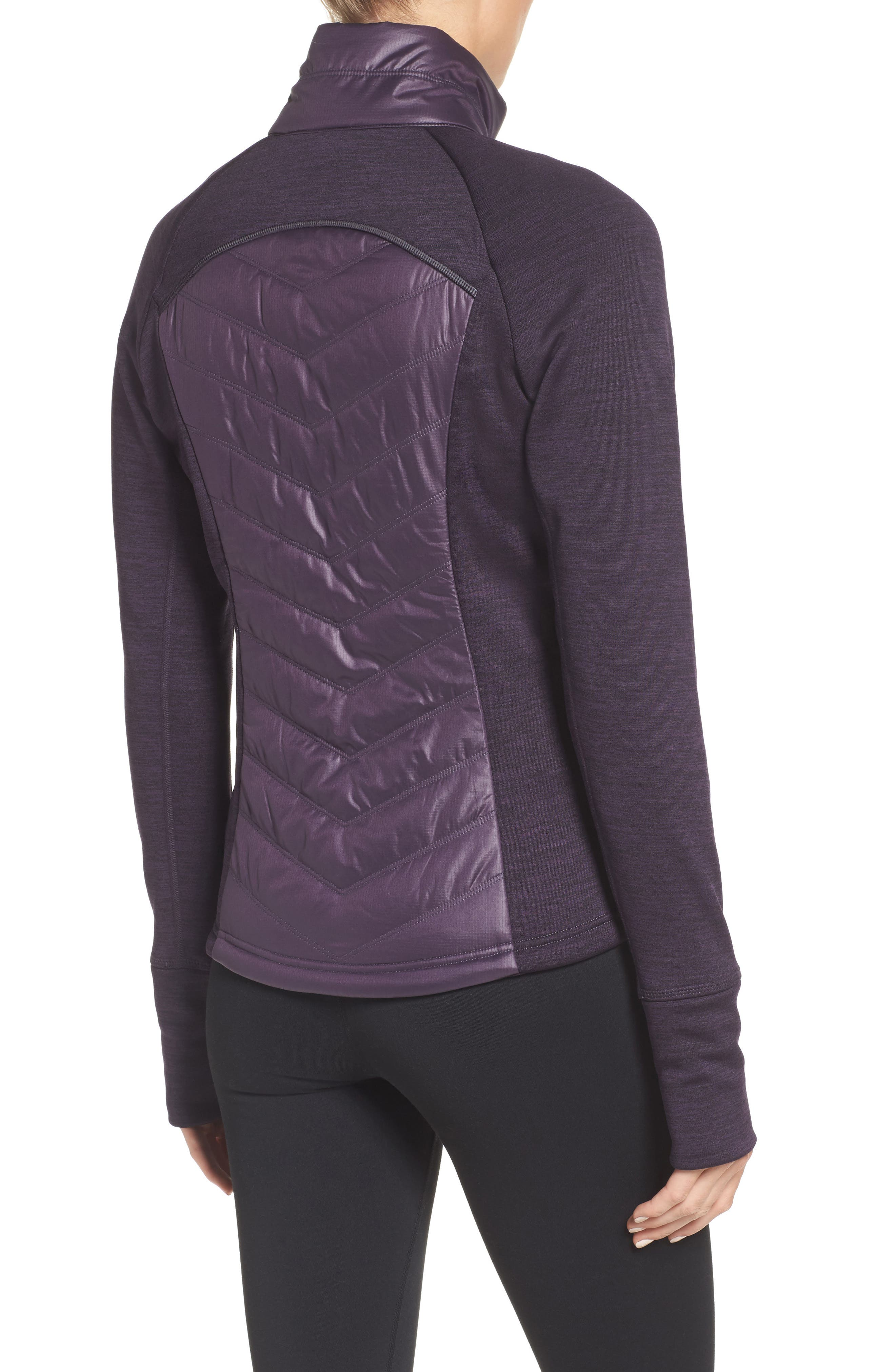 Zelfusion Reflective Quilted Jacket,                             Alternate thumbnail 14, color,