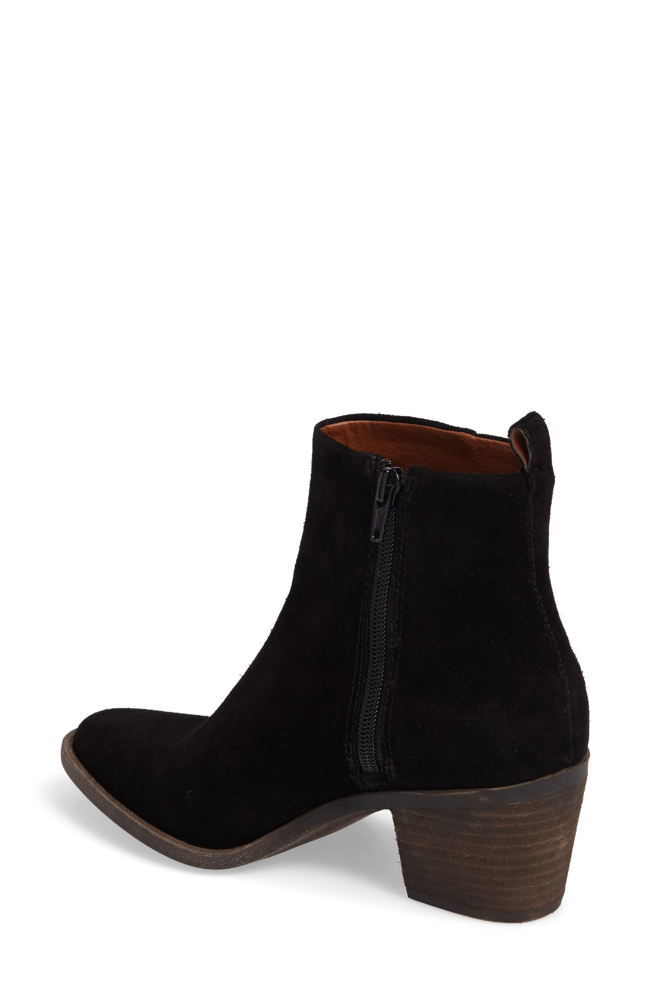LUCKY BRAND,                             Natania Bootie,                             Alternate thumbnail 2, color,                             001