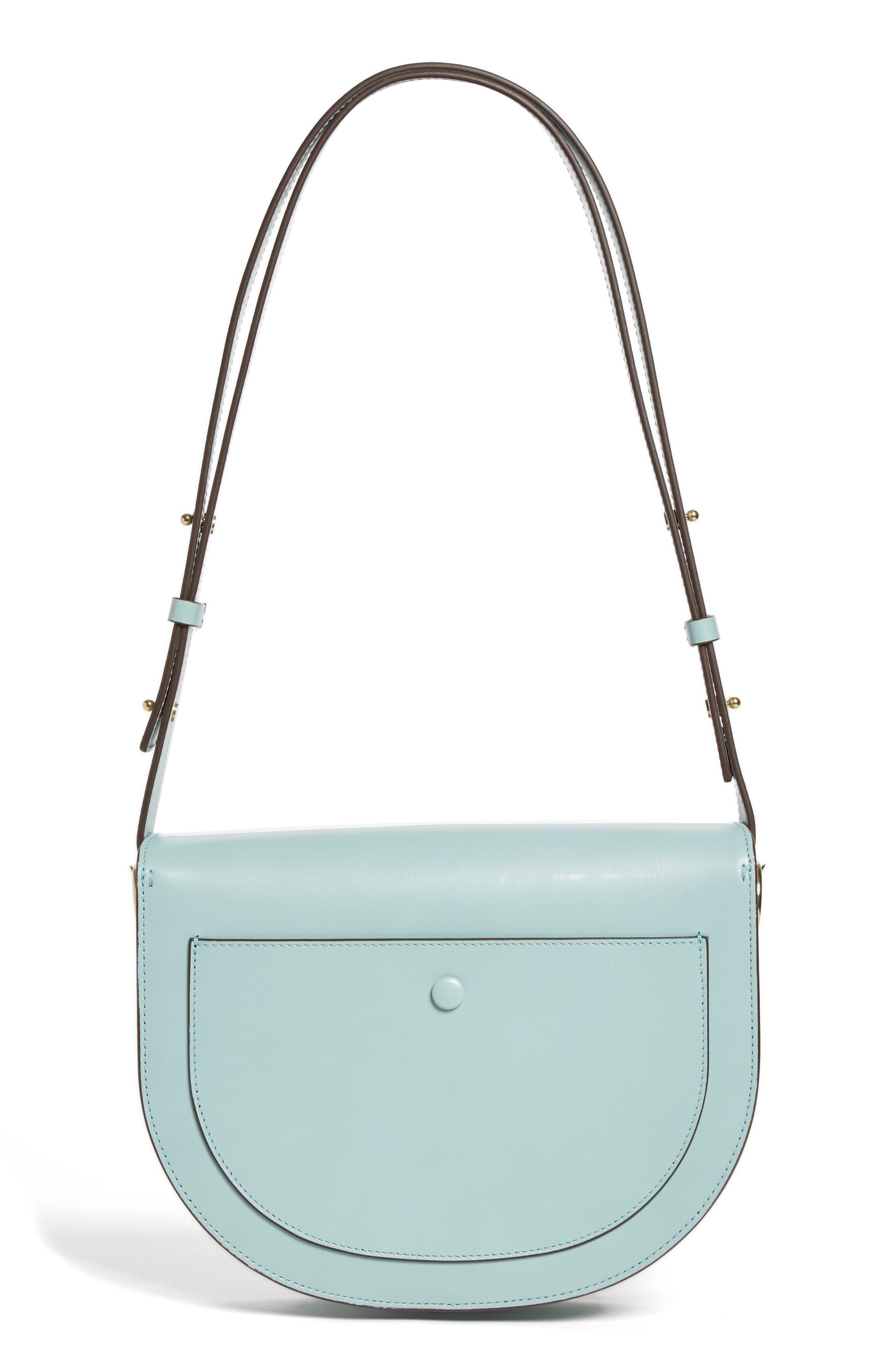 Half Moon Box Shoulder Bag,                             Alternate thumbnail 3, color,                             440