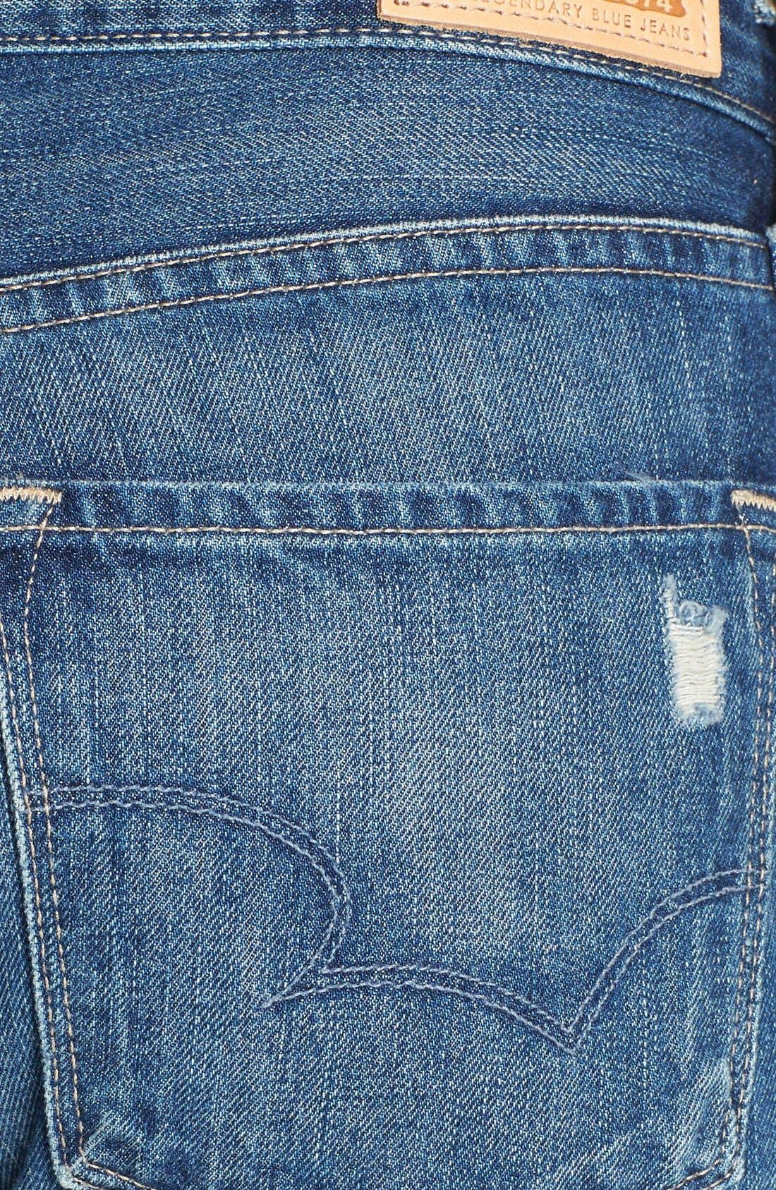 'Joey' Boyfriend Jeans,                             Alternate thumbnail 3, color,                             406