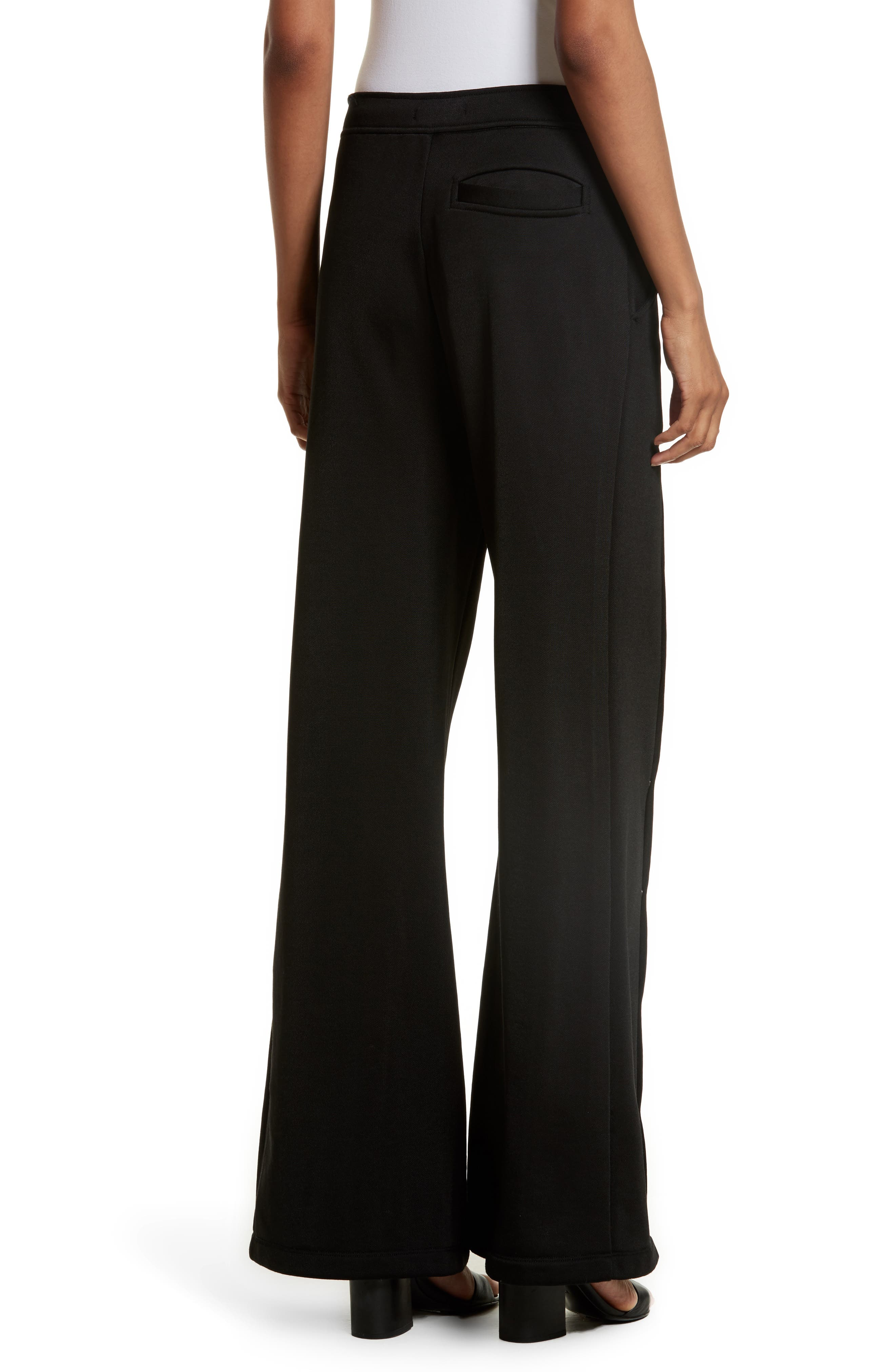 French Terry Wide Leg Pants,                             Alternate thumbnail 2, color,