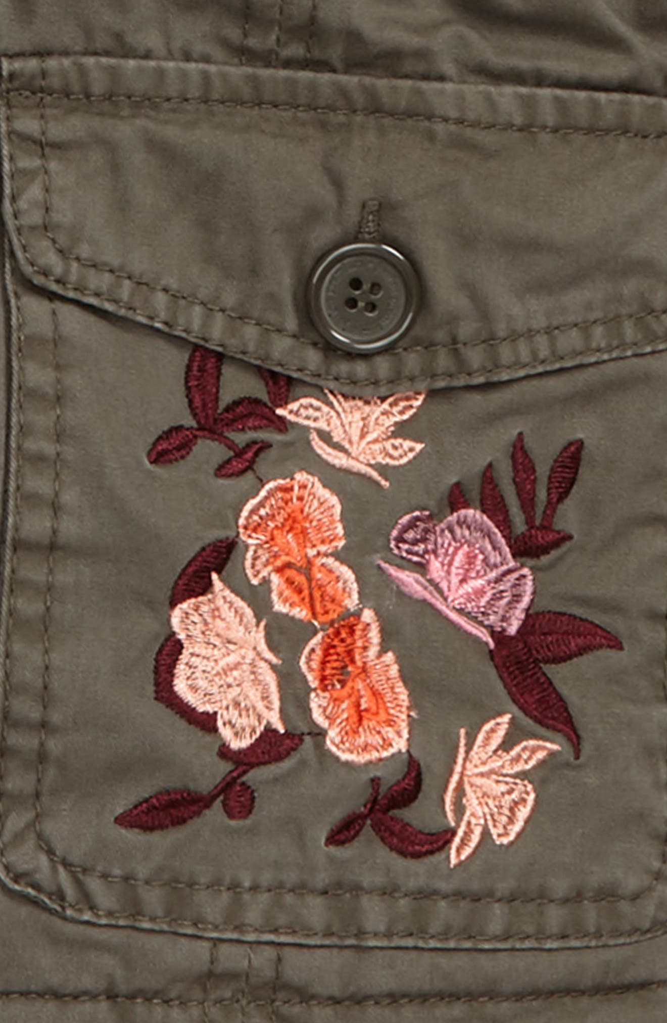 Embroidered Utility Jacket,                             Alternate thumbnail 2, color,                             303
